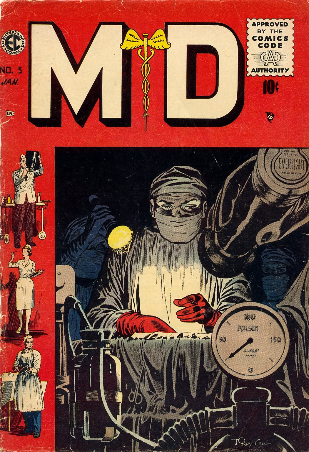 Read online M.D. comic -  Issue #5 - 1