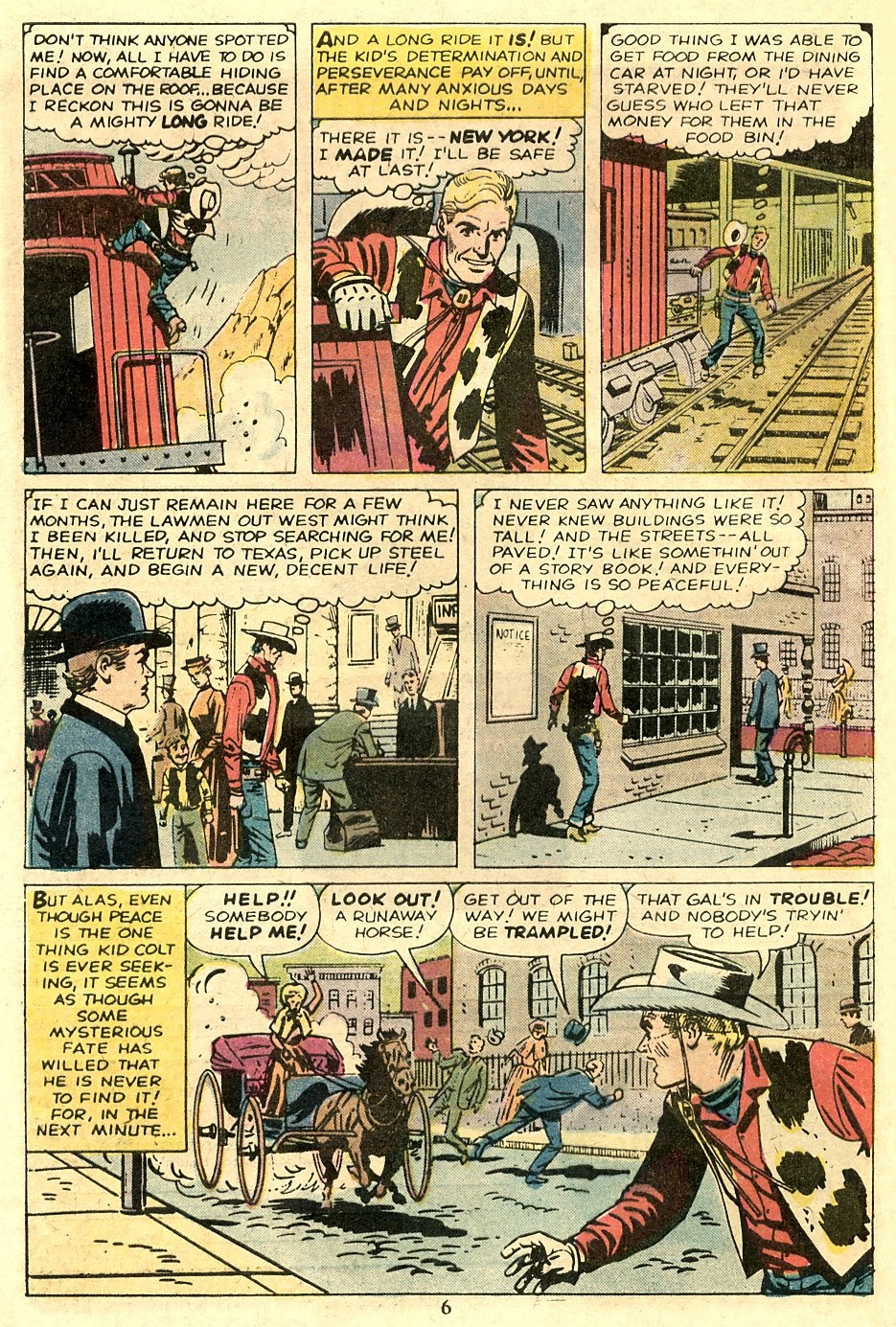 Kid Colt Outlaw issue 185 - Page 8