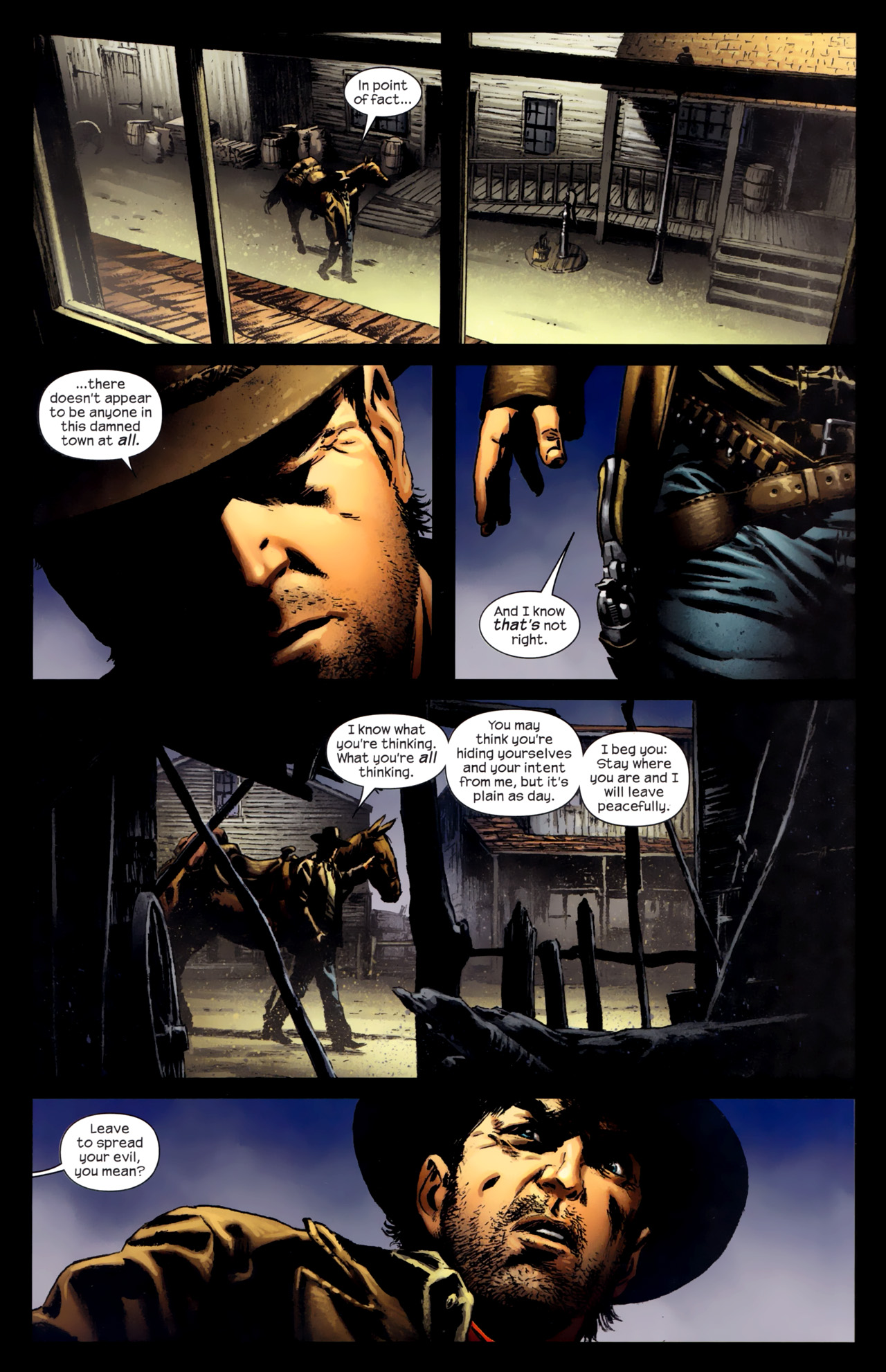 Read online Dark Tower: The Gunslinger - The Battle of Tull comic -  Issue #4 - 22
