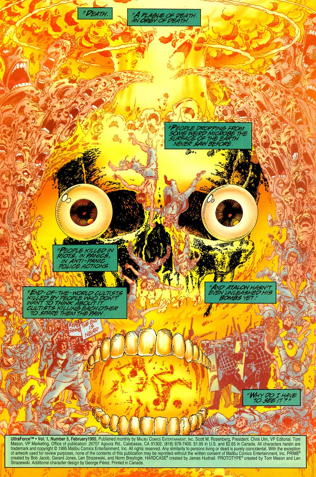 Read online UltraForce (1994) comic -  Issue #5 - 2