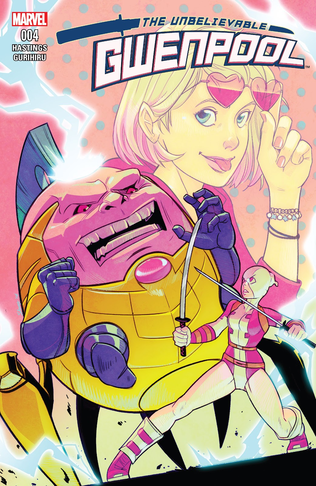 The Unbelievable Gwenpool 4 Page 1