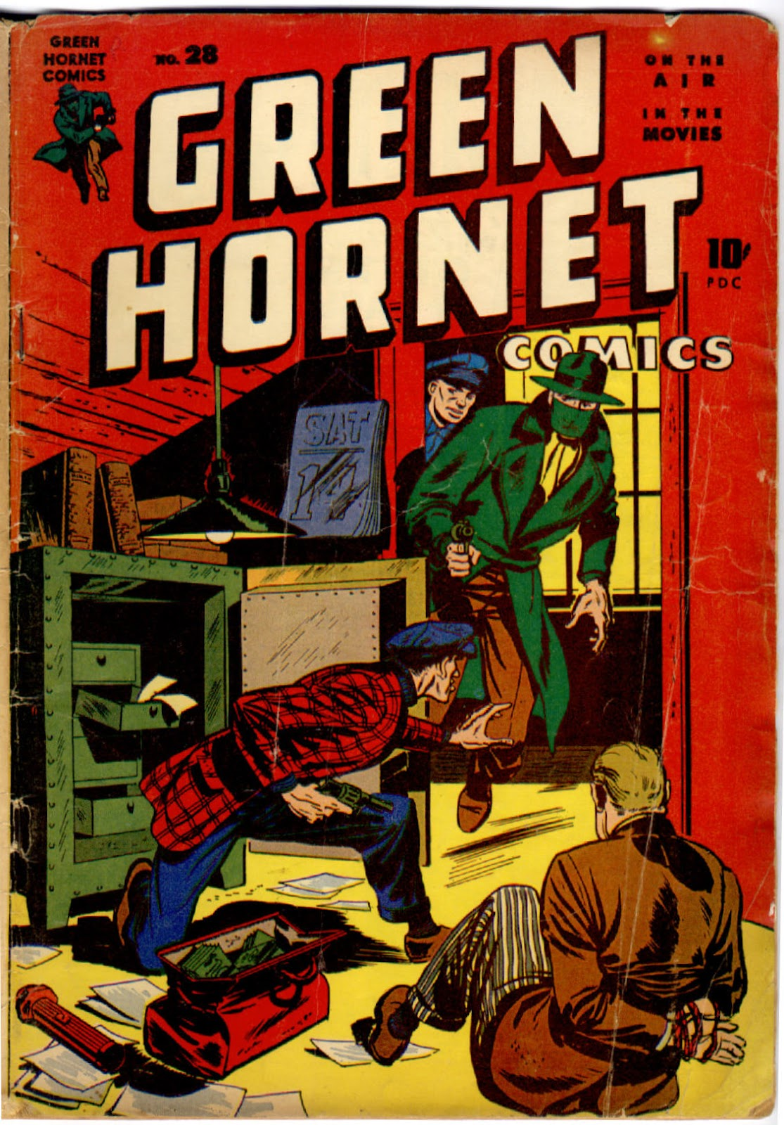 Green Hornet Comics issue 28 - Page 1