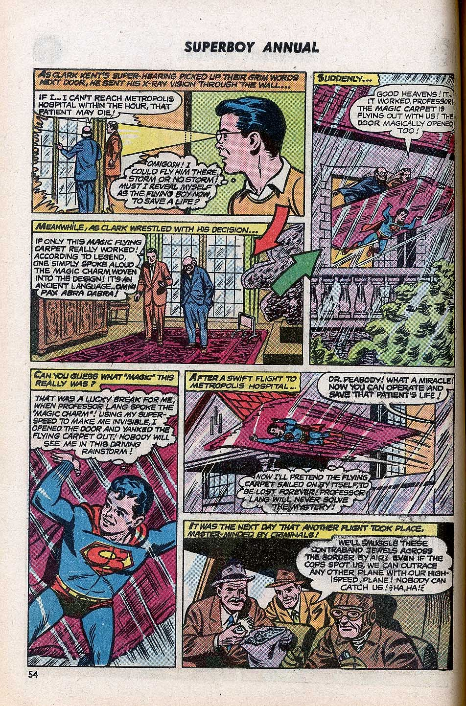 Superboy (1949) issue Annual 1 - Page 56