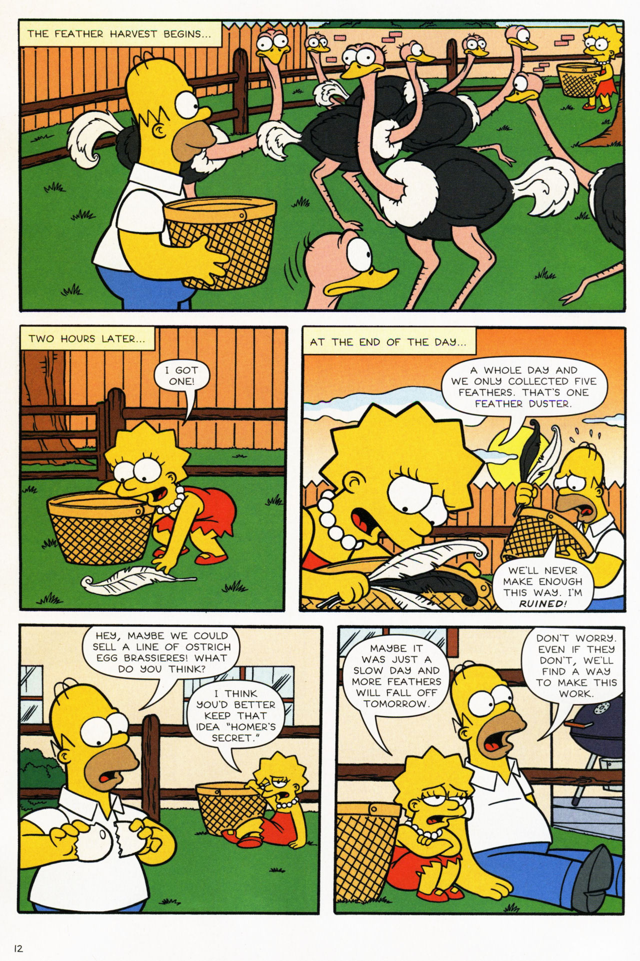 Read online Simpsons Comics comic -  Issue #139 - 12
