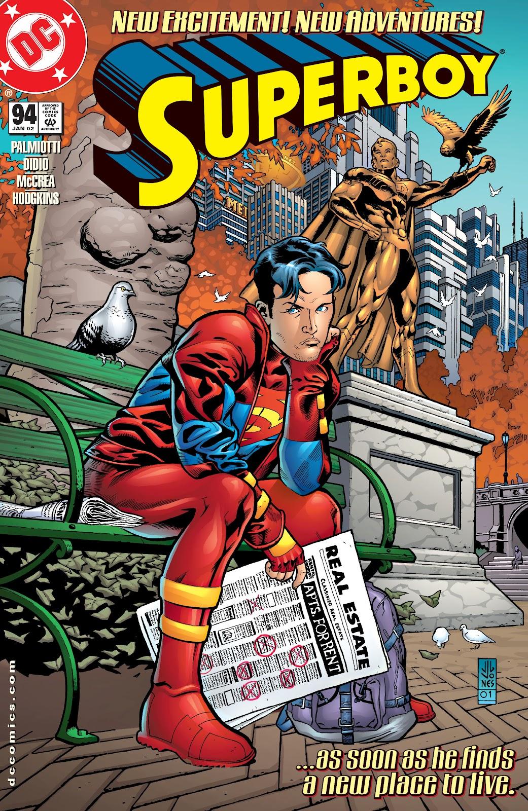 Superboy (1994) 94 Page 1