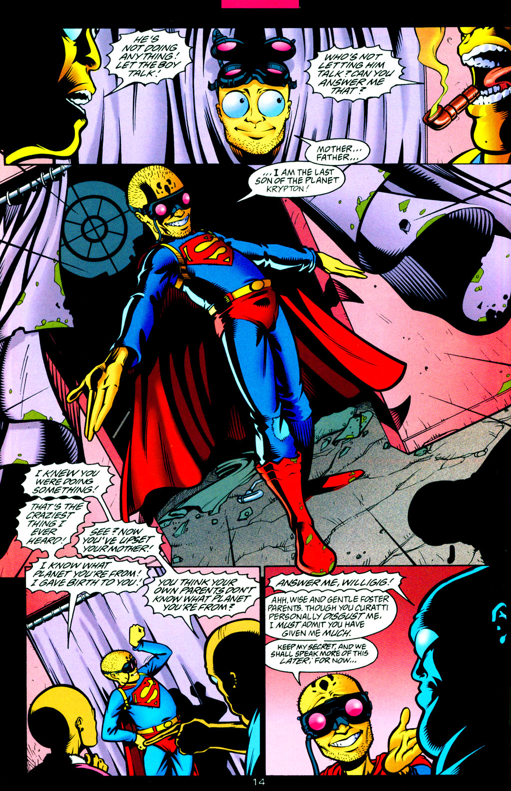 Read online Adventures of Superman (1987) comic -  Issue #Adventures of Superman (1987) _Annual 8 - 16