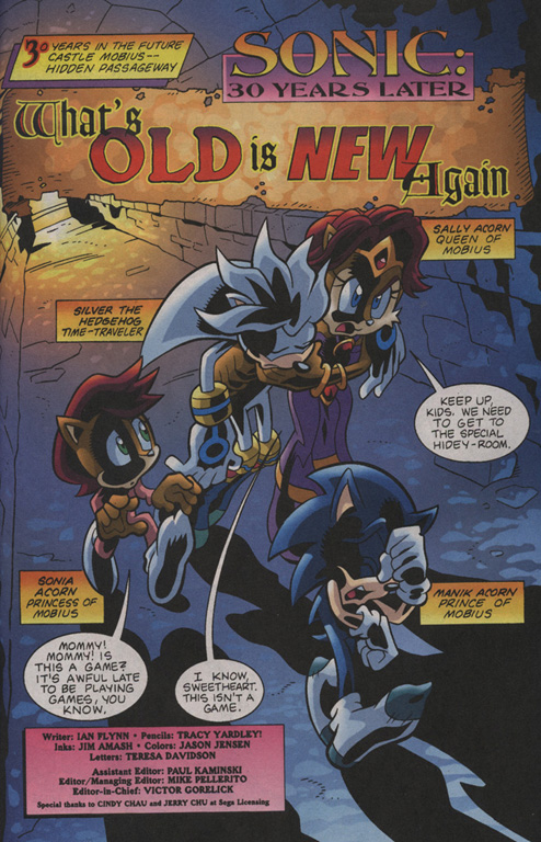 Read online Sonic Universe comic -  Issue #7 - 2