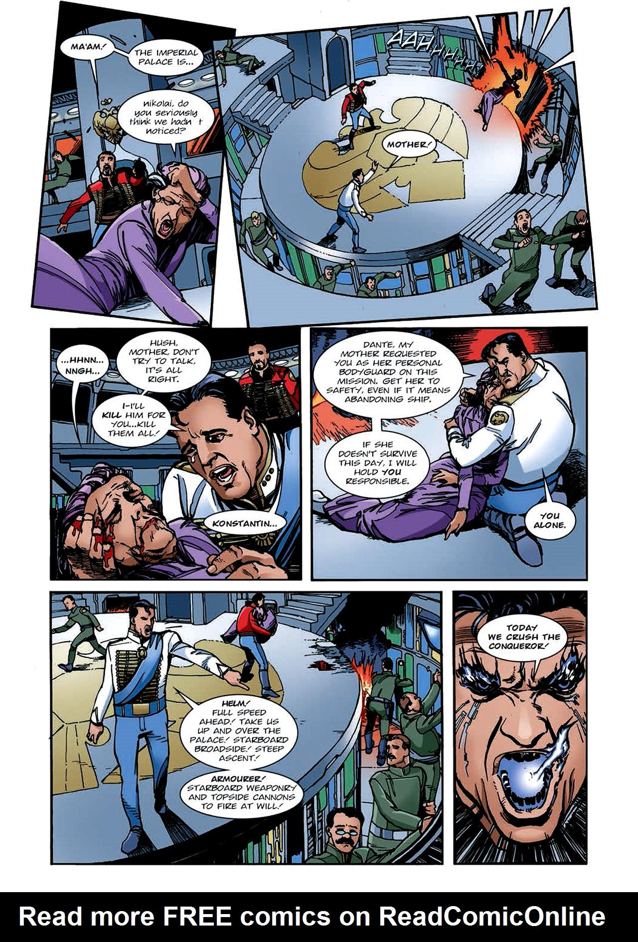 Read online Nikolai Dante comic -  Issue # TPB 4 - 136