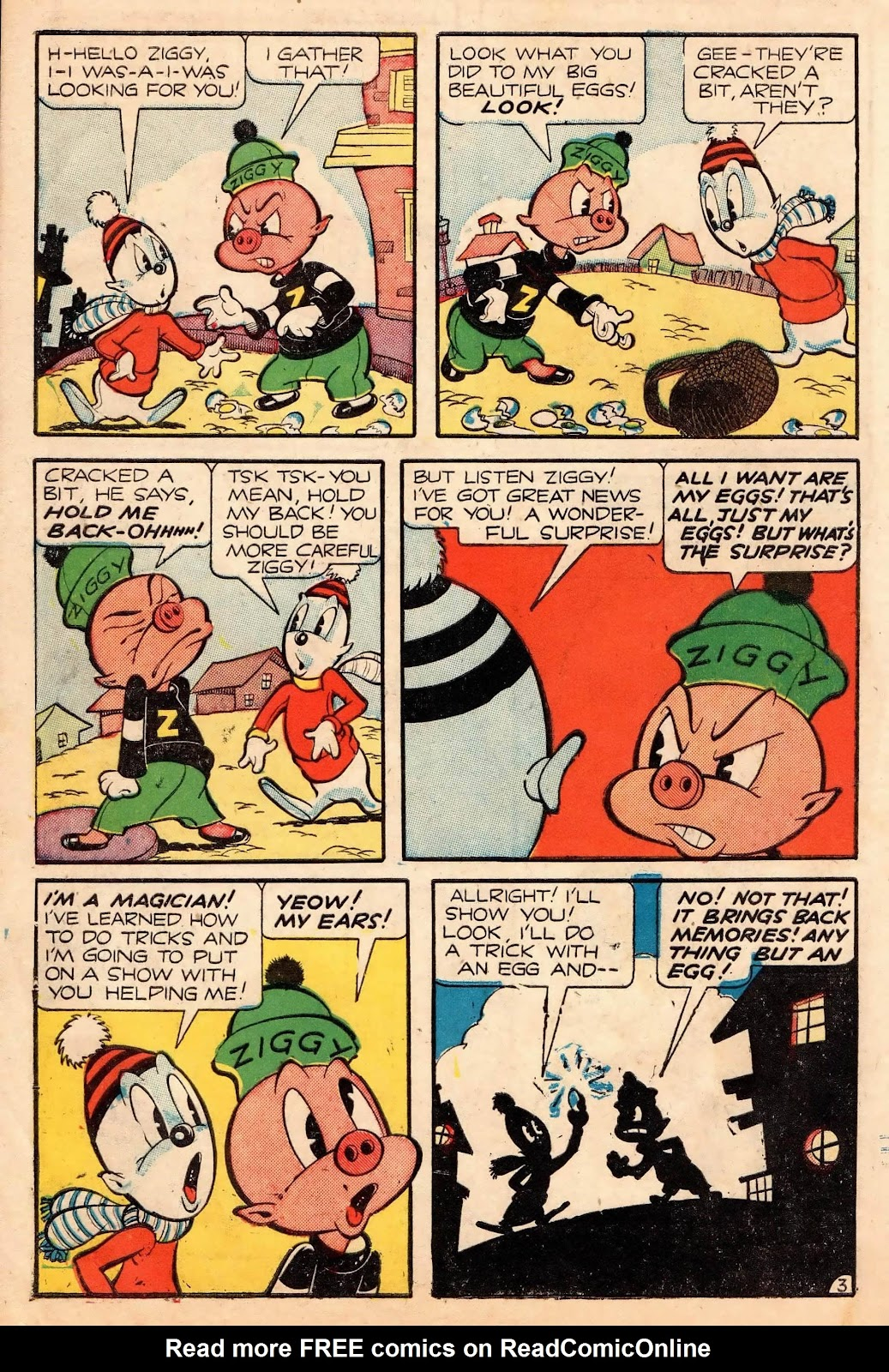 Ziggy Pig-Silly Seal Comics (1944) issue 2 - Page 12