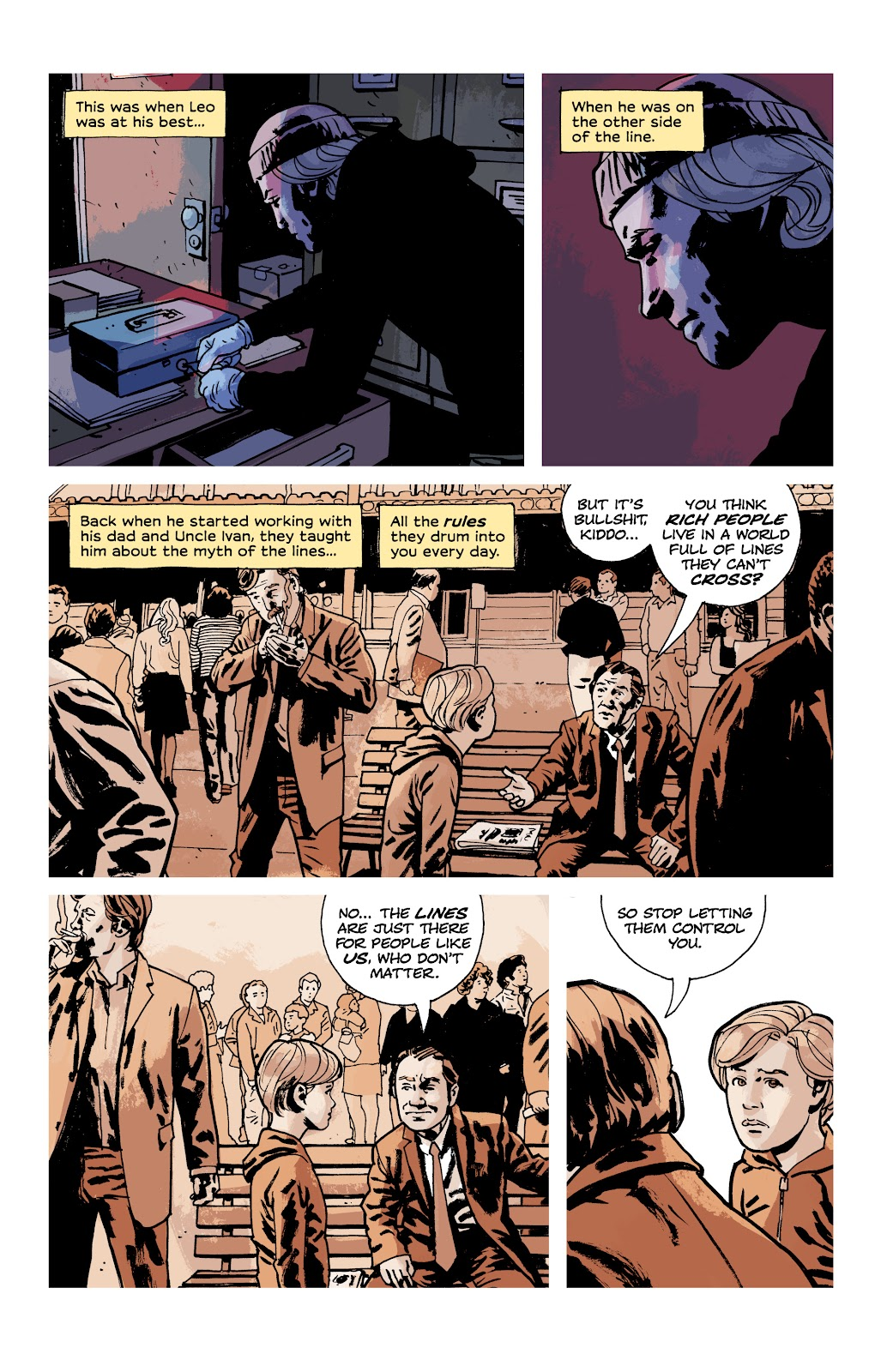 Read online Criminal (2019) comic -  Issue #9 - 16