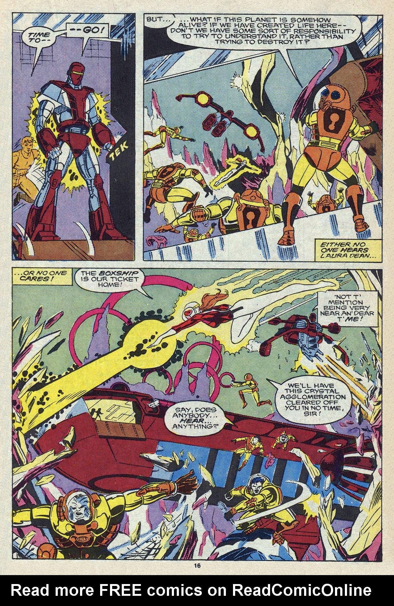 Read online Alpha Flight (1983) comic -  Issue #57 - 23