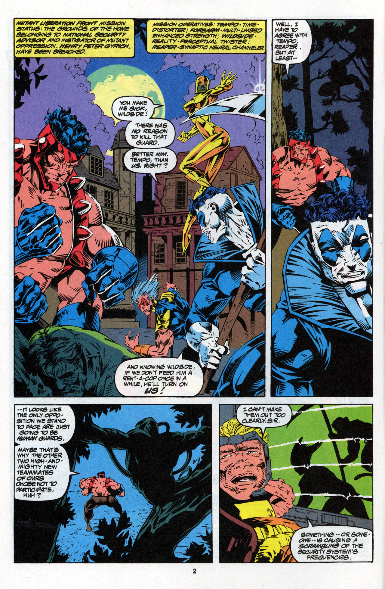 Read online X-Force (1991) comic -  Issue #27 - 4