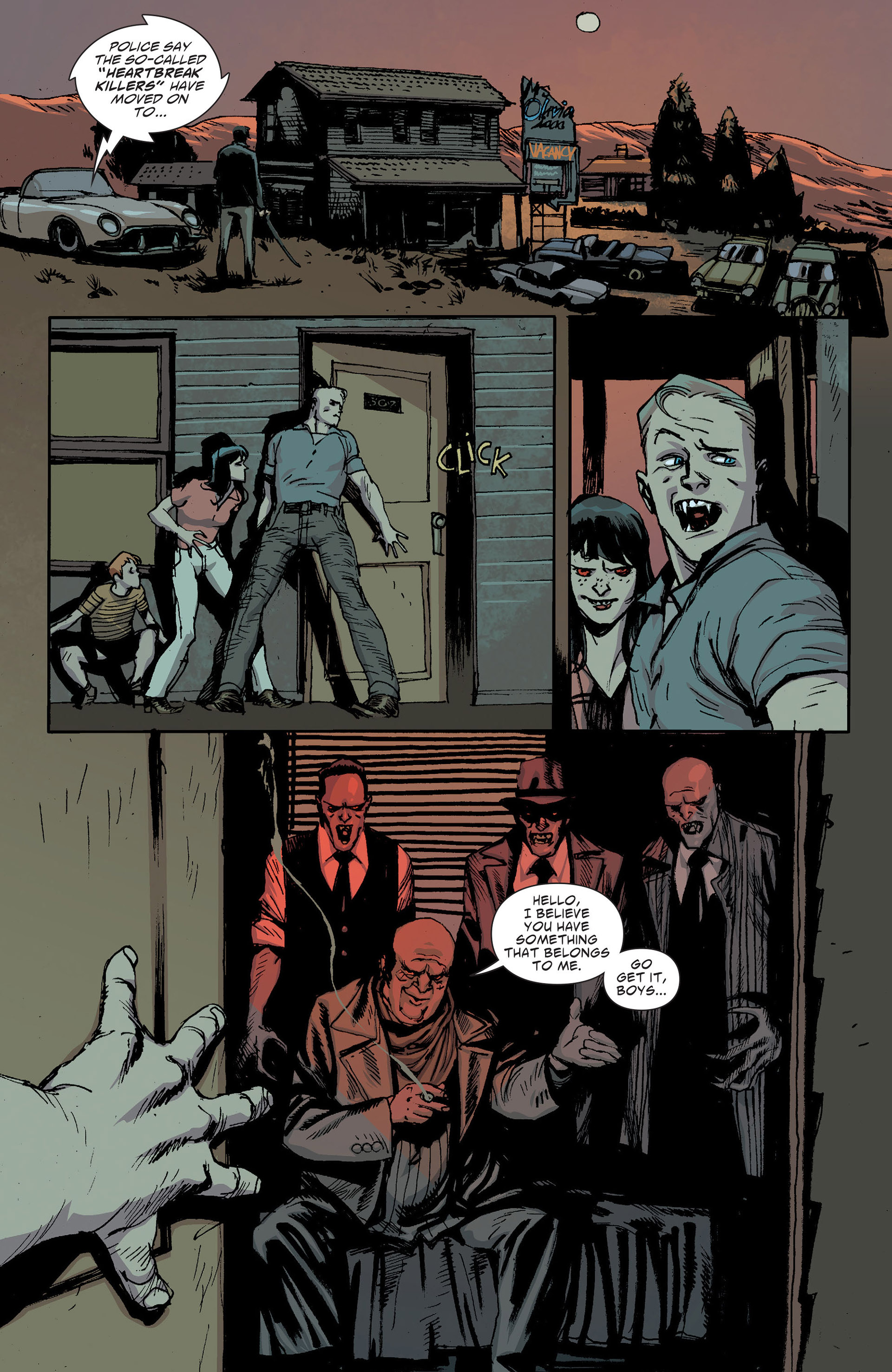 Read online American Vampire: The Long Road To Hell comic -  Issue # Full - 34