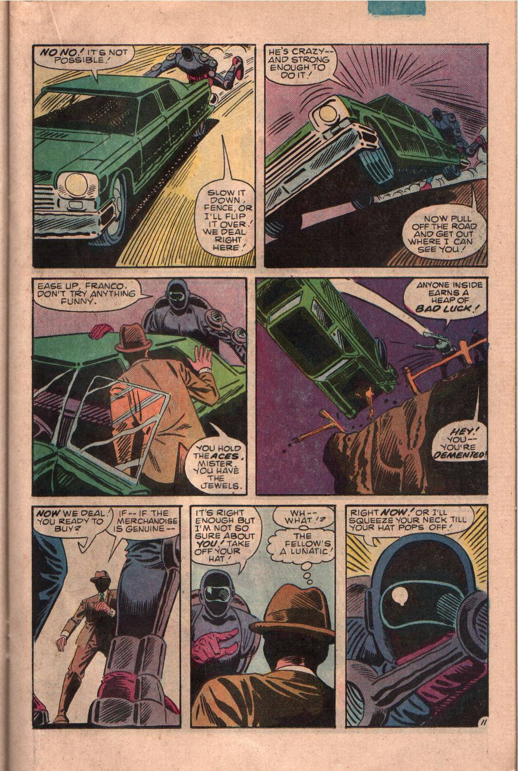 Read online The Fly (1983) comic -  Issue #7 - 12