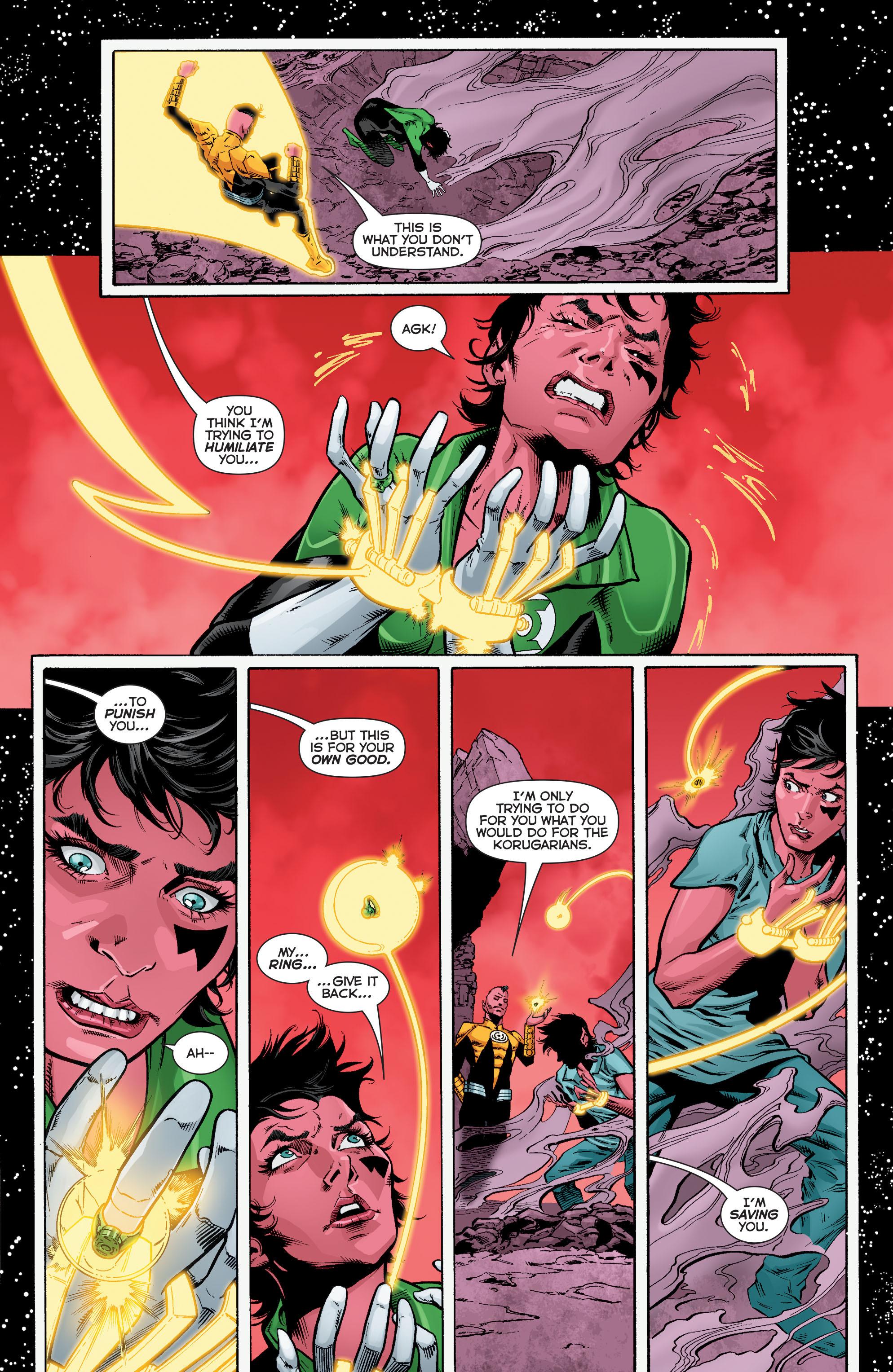 Read online Sinestro comic -  Issue #12 - 22
