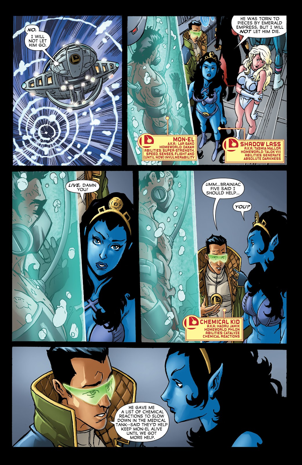 Legion of Super-Heroes (2011) Issue #21 #22 - English 8