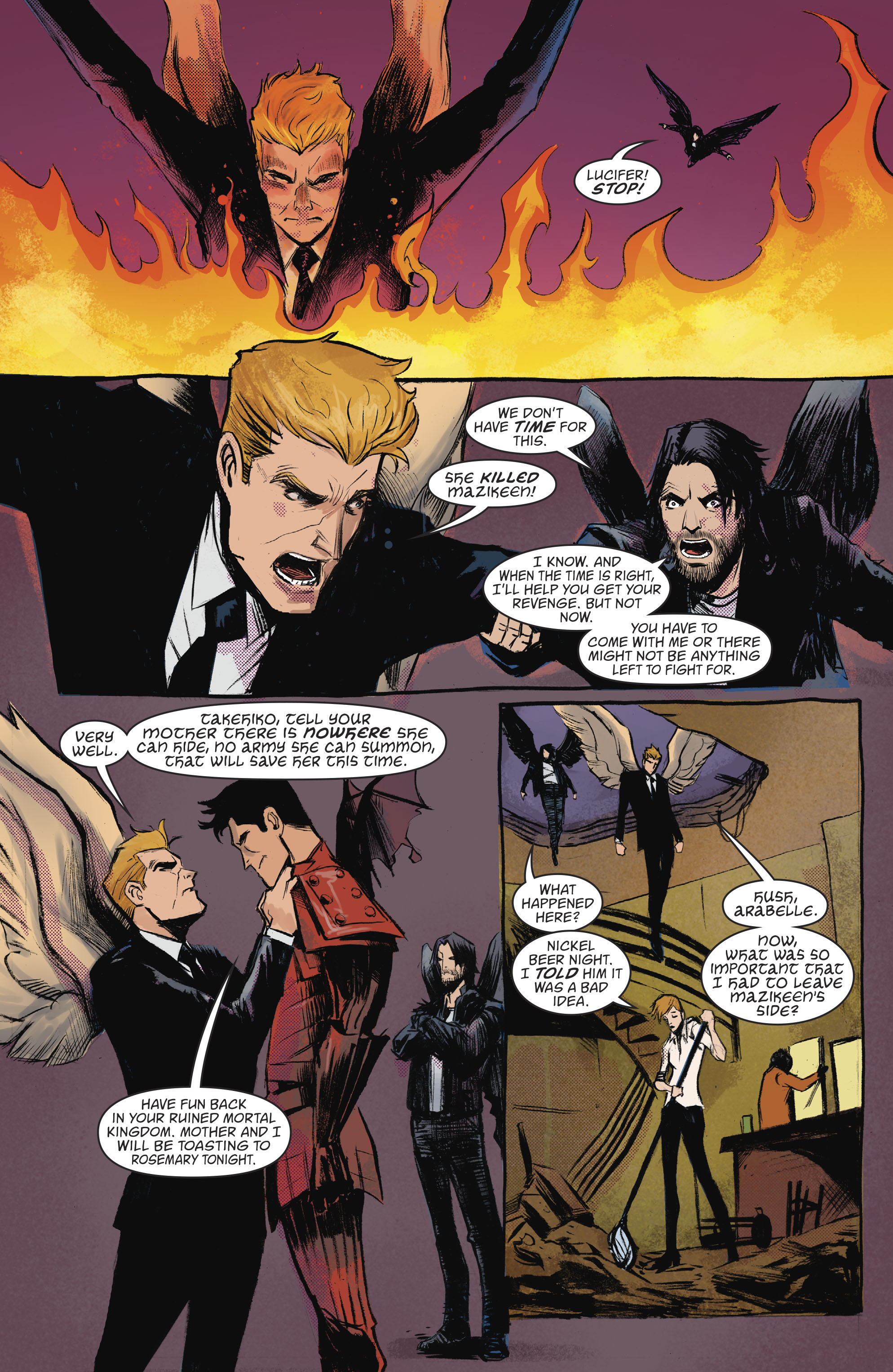 Read online Lucifer (2016) comic -  Issue #18 - 13