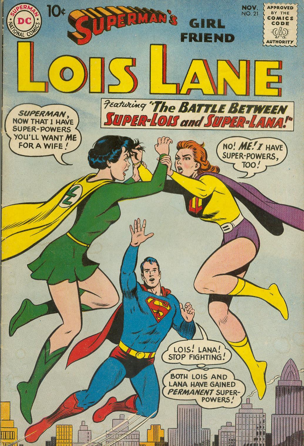 Supermans Girl Friend, Lois Lane 21 Page 1