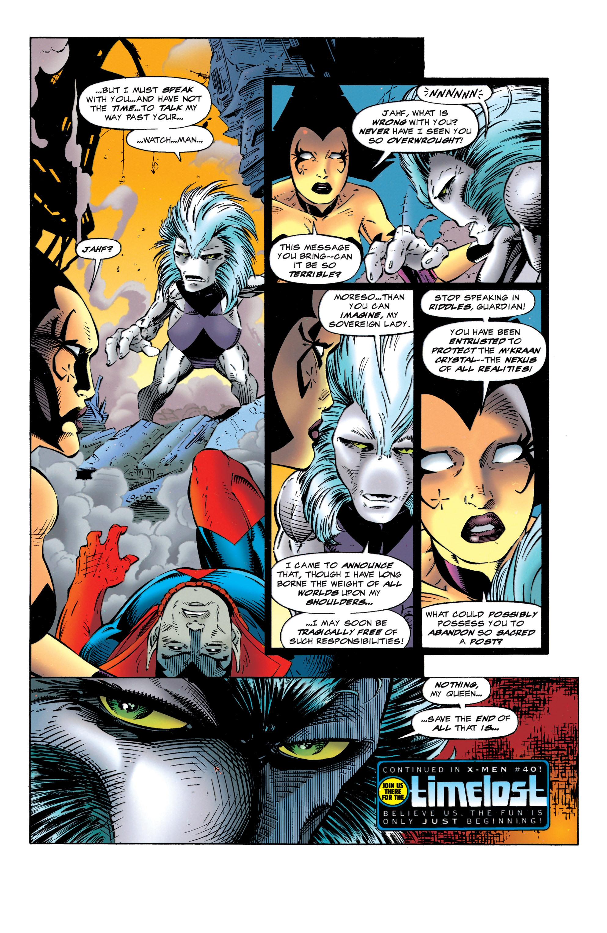 Read online Uncanny X-Men (1963) comic -  Issue #320 - 21