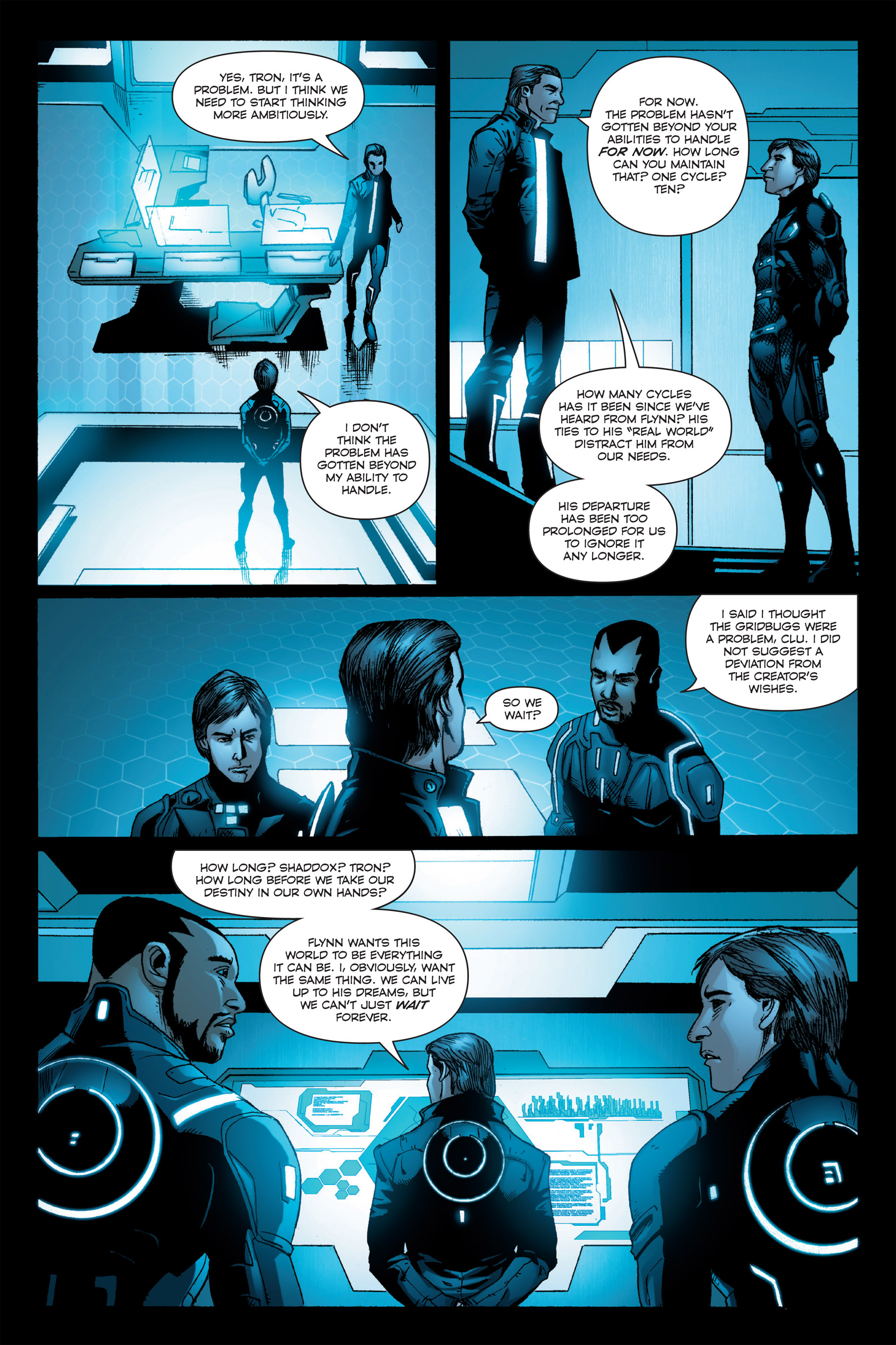 Read online TRON: Betrayal comic -  Issue # TPB - 44