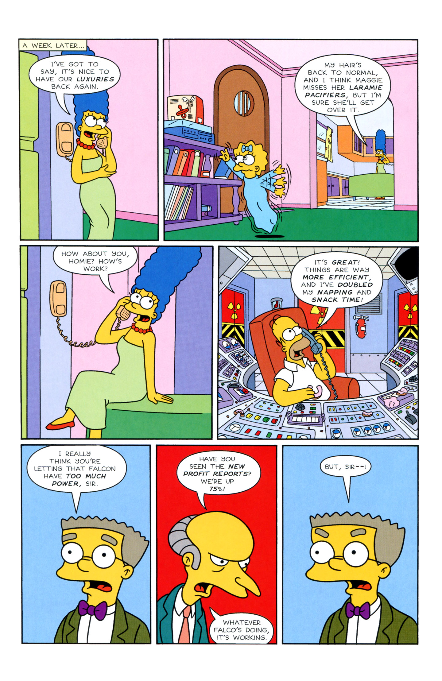 Read online Simpsons Illustrated (1991) comic -  Issue #3 - 22