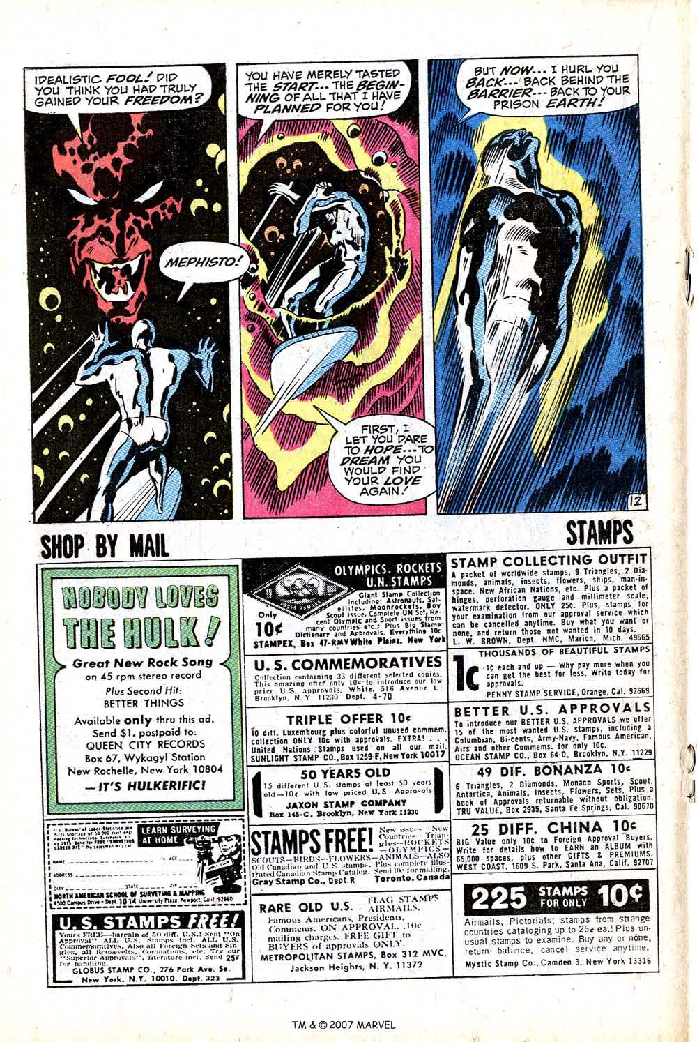 Read online Silver Surfer (1968) comic -  Issue #16 - 18