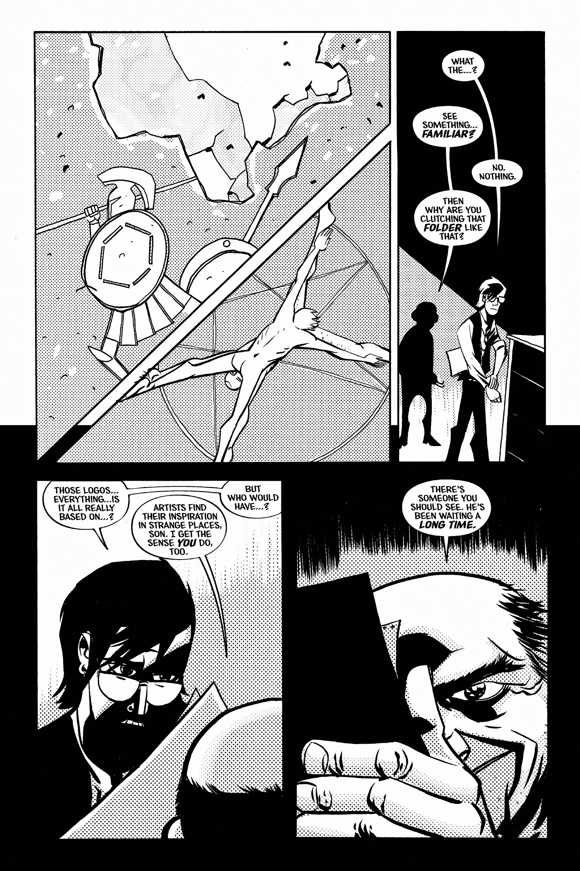 Read online Aleister & Adolf comic -  Issue # TPB - 11
