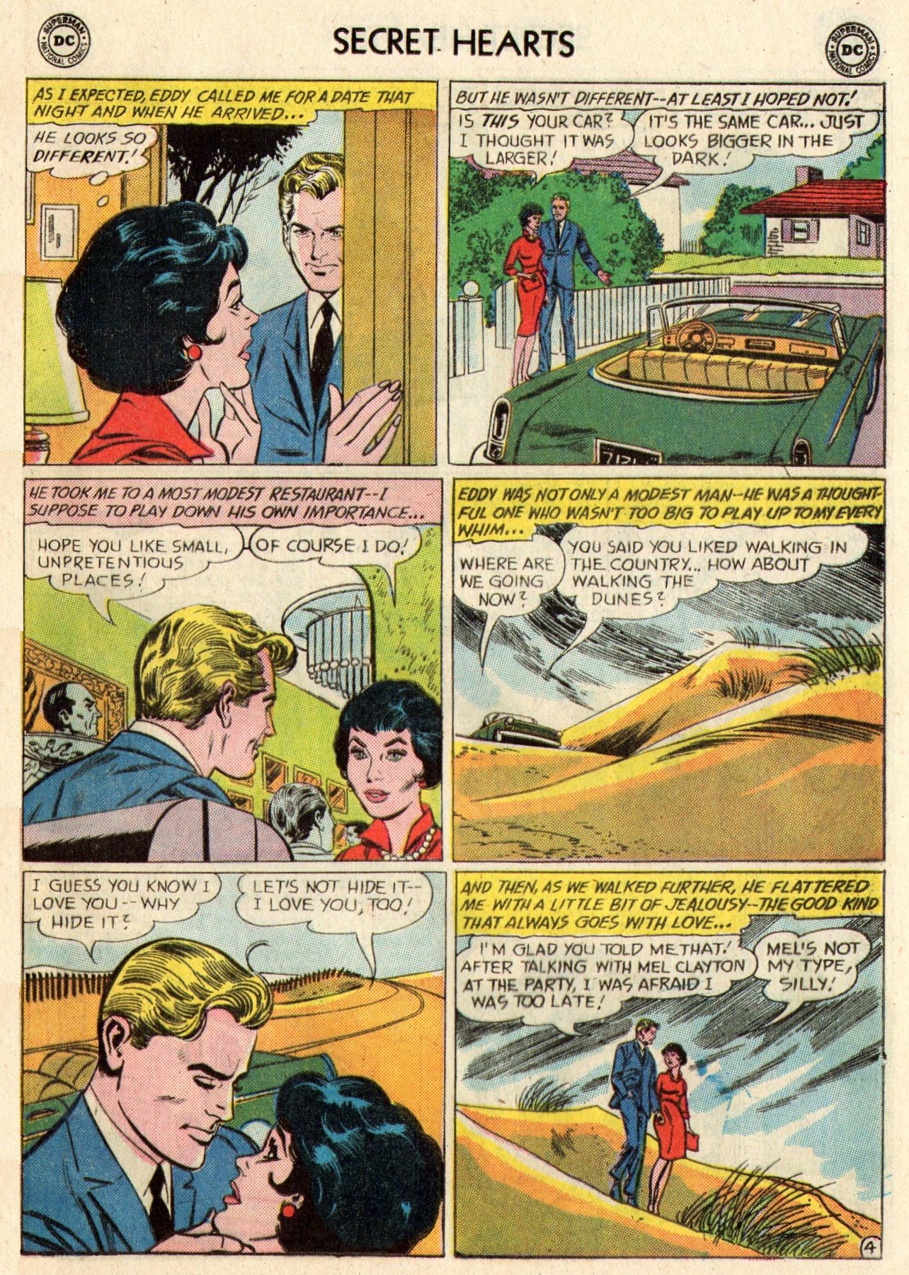 Read online Secret Hearts comic -  Issue #95 - 21