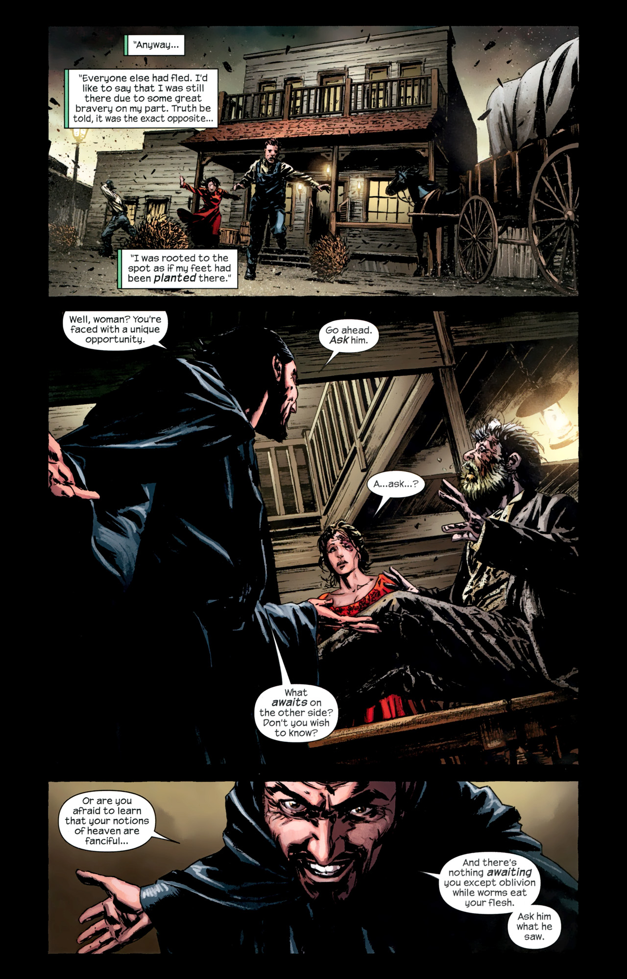Read online Dark Tower: The Gunslinger - The Battle of Tull comic -  Issue #3 - 4