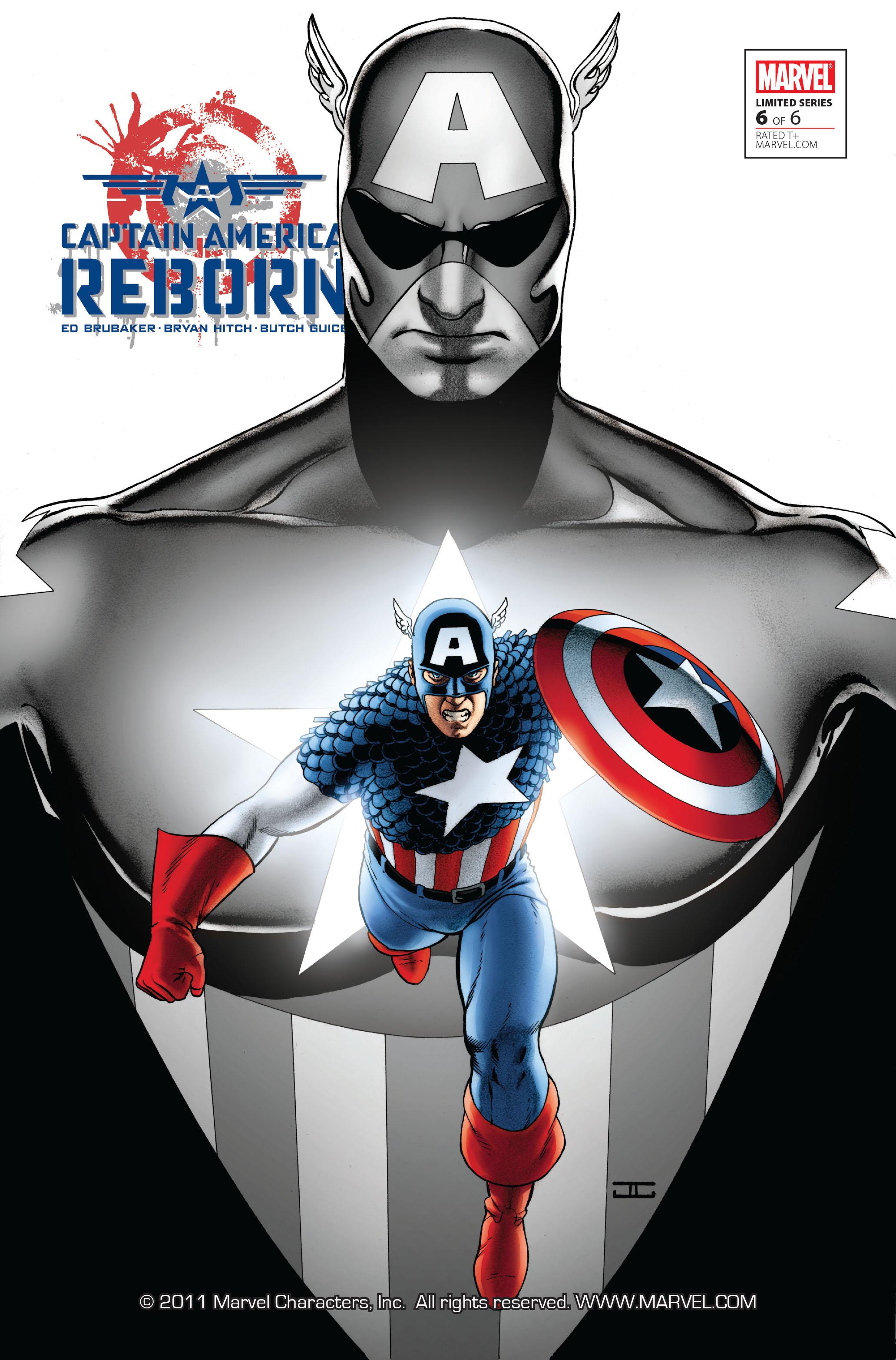 Captain America: Reborn 6 Page 1