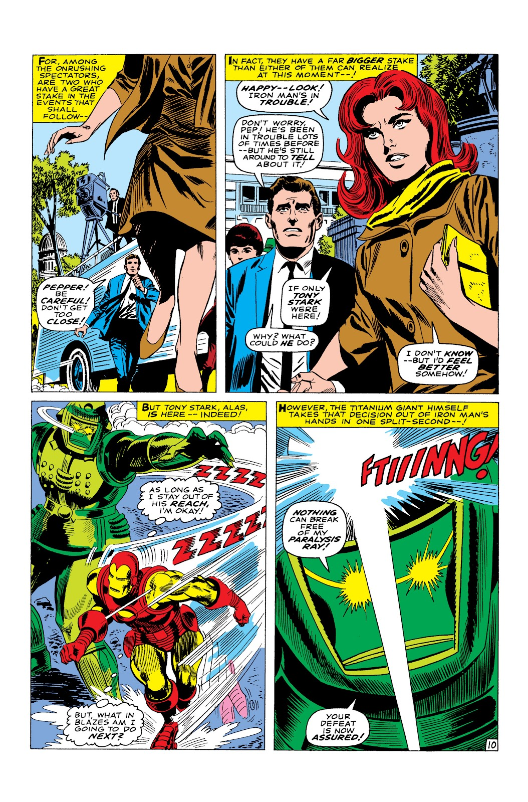 Read online Marvel Masterworks: The Invincible Iron Man comic -  Issue # TPB 3 (Part 4) - 81