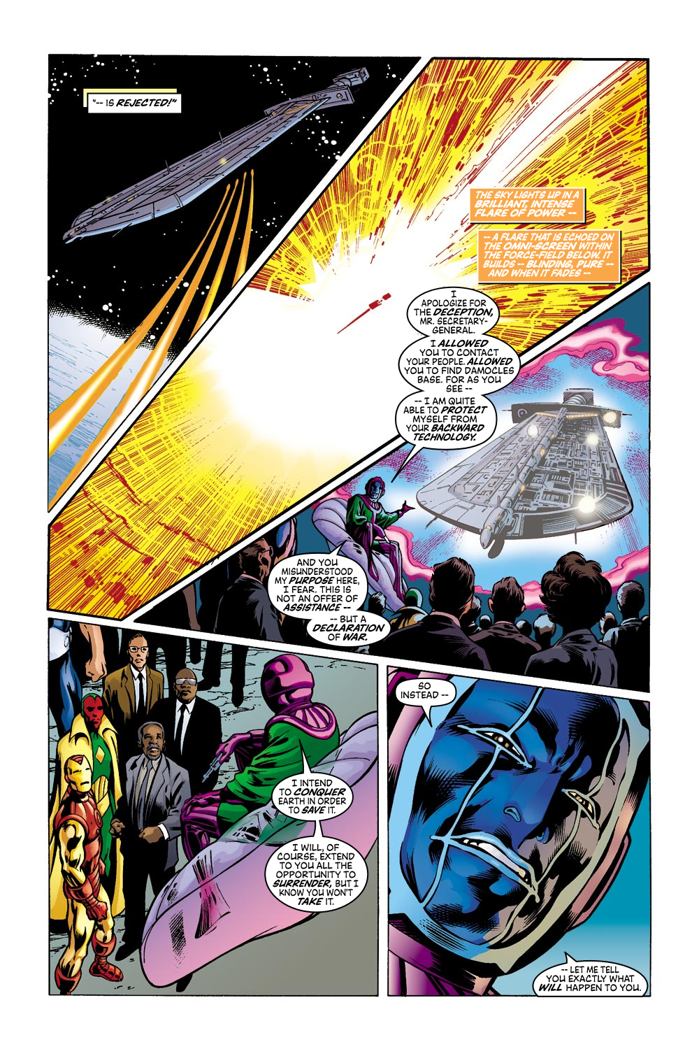 Read online Avengers (1998) comic -  Issue #42 - 13