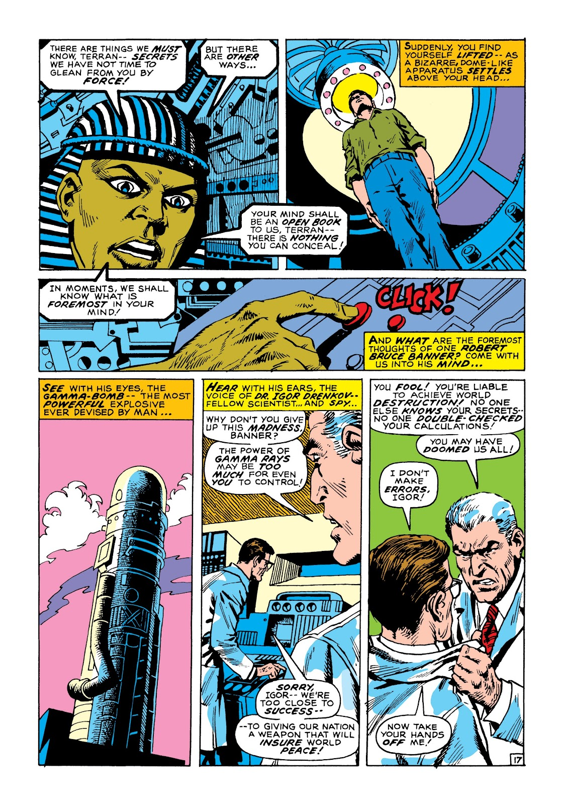 Read online Marvel Masterworks: The Incredible Hulk comic -  Issue # TPB 8 (Part 1) - 24