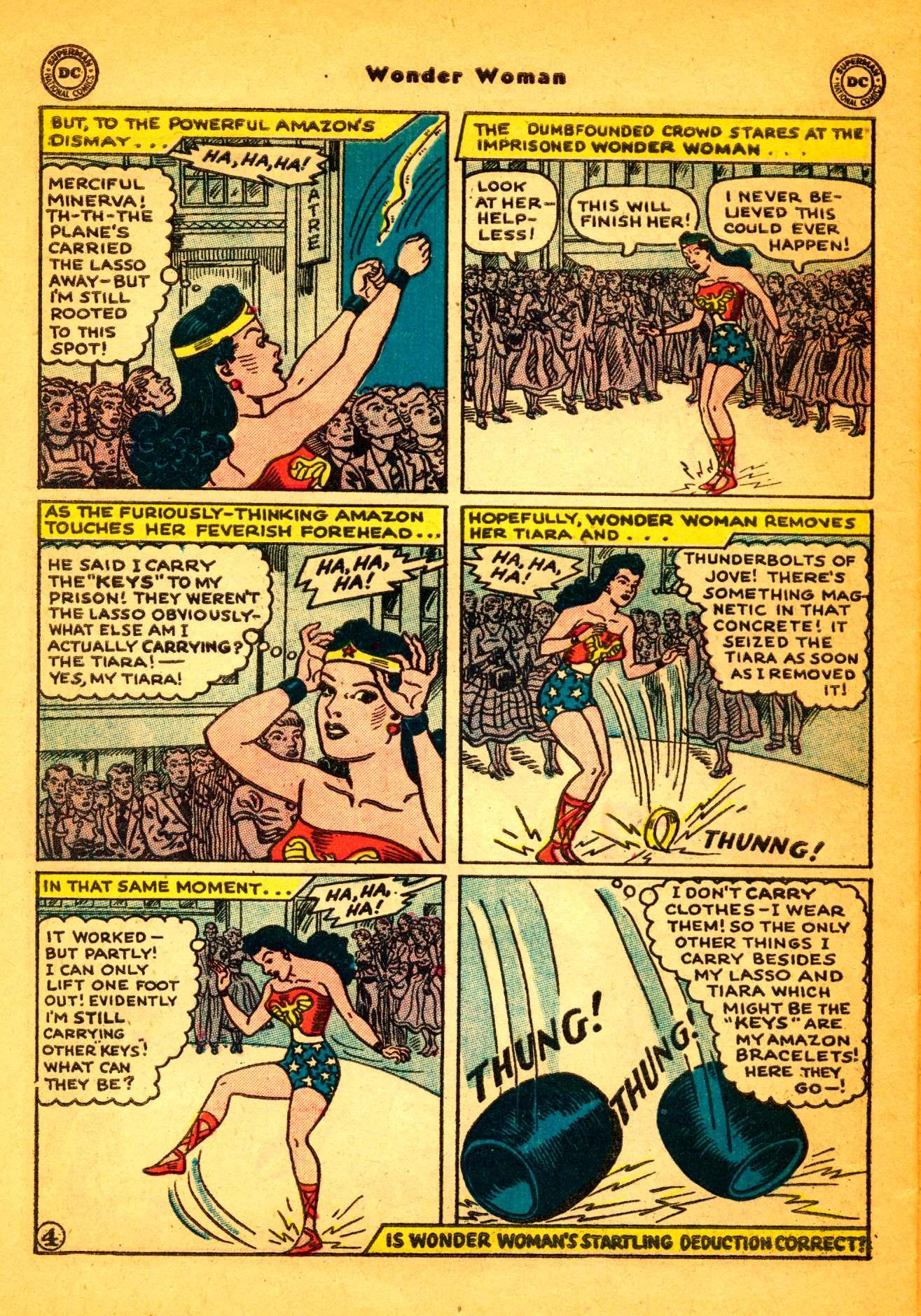 Read online Wonder Woman (1942) comic -  Issue #86 - 29