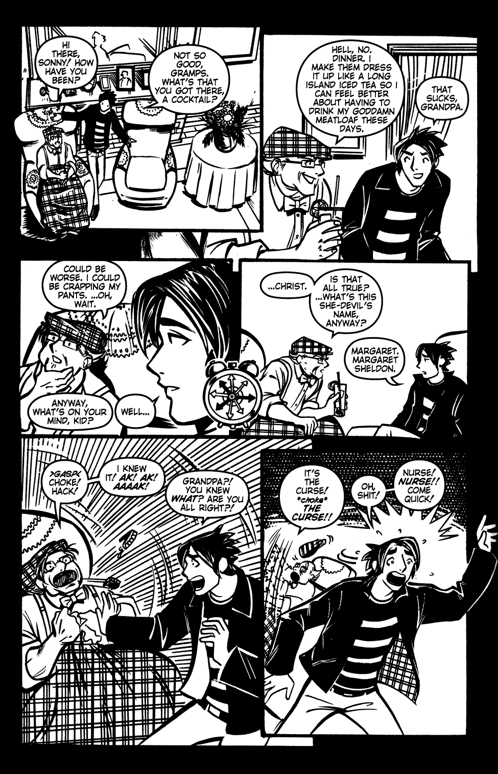 Read online Scooter Girl comic -  Issue #3 - 16
