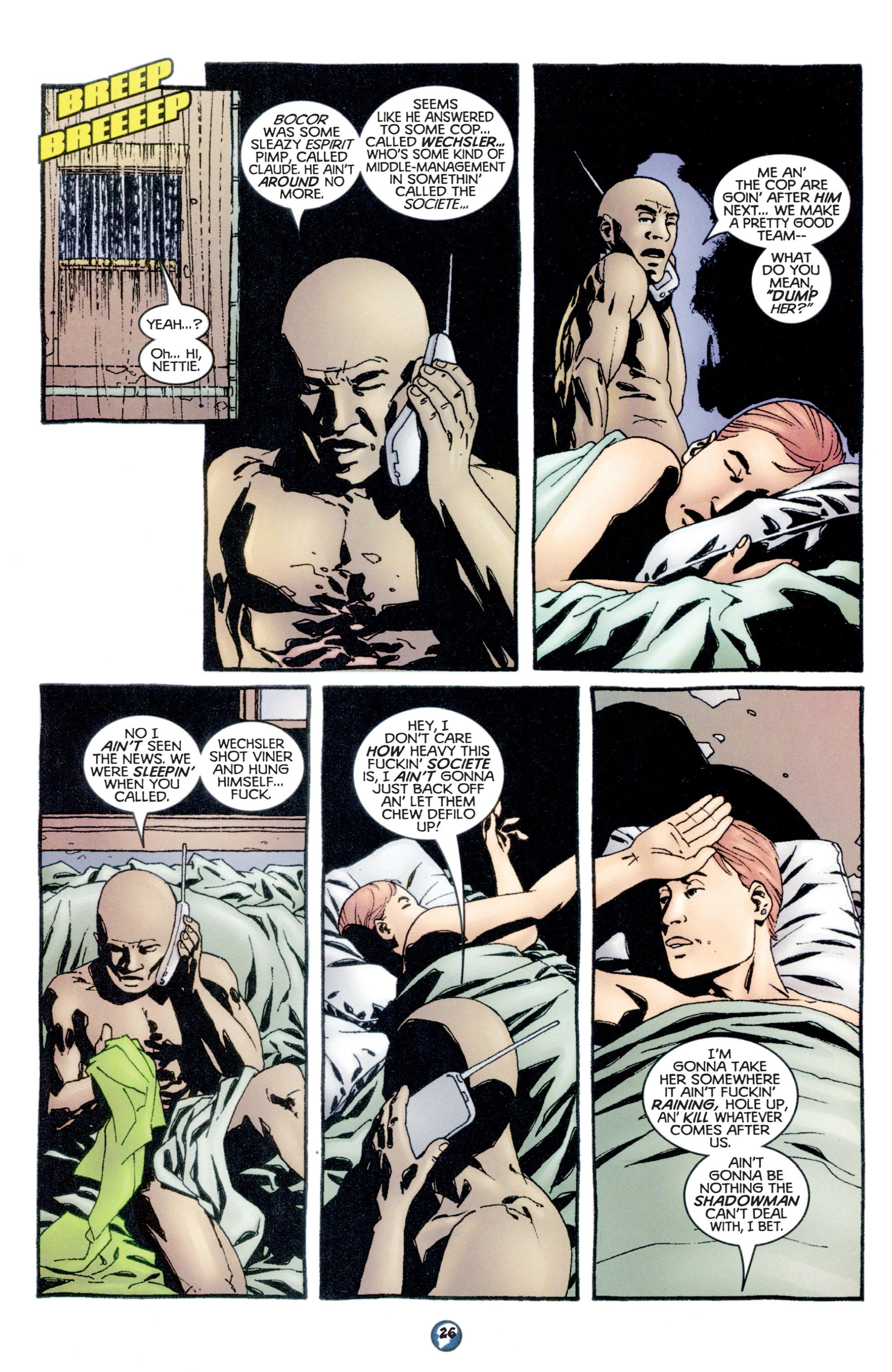 Read online Shadowman (1997) comic -  Issue #10 - 21