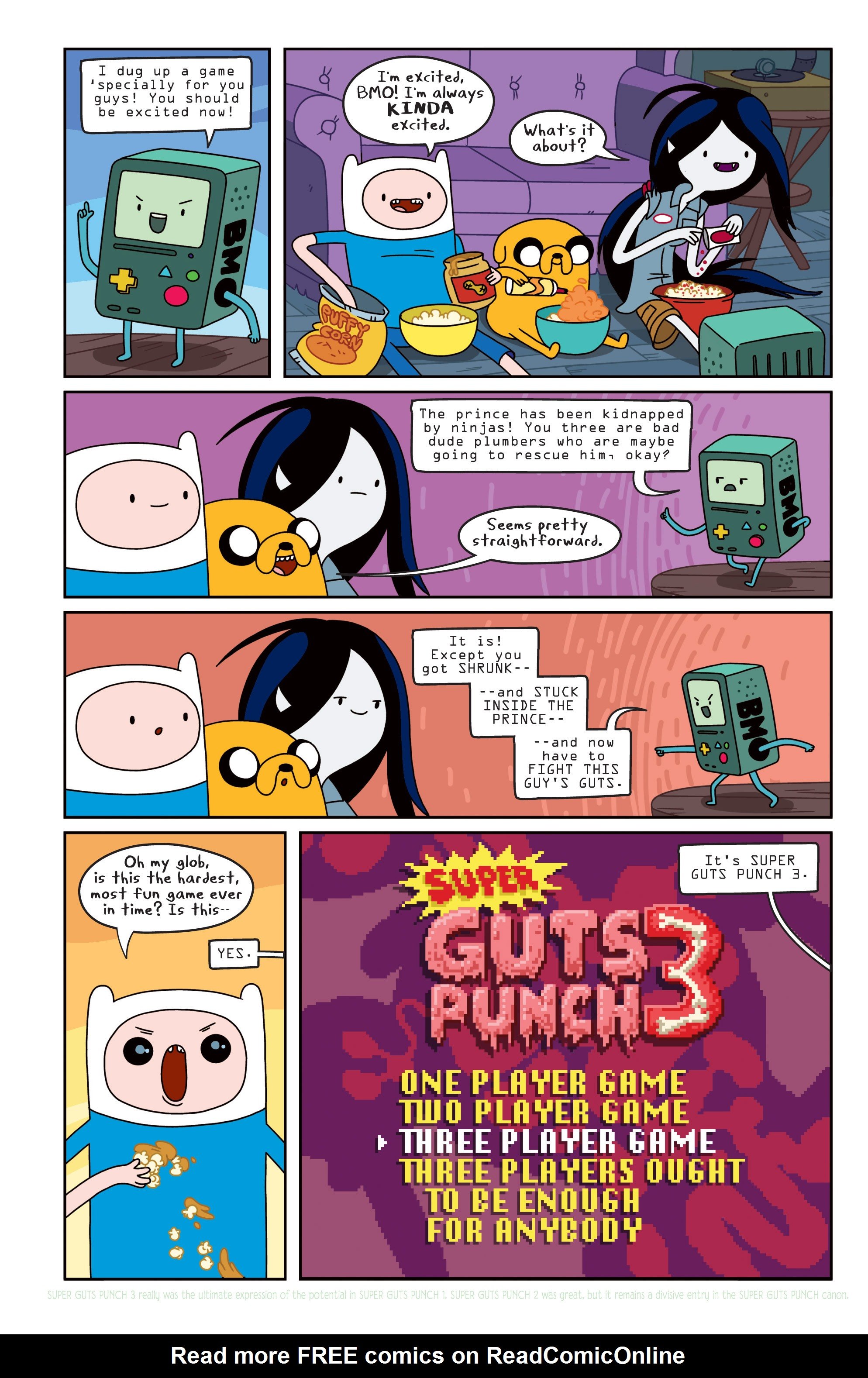 Read online Adventure Time comic -  Issue #11 - 9