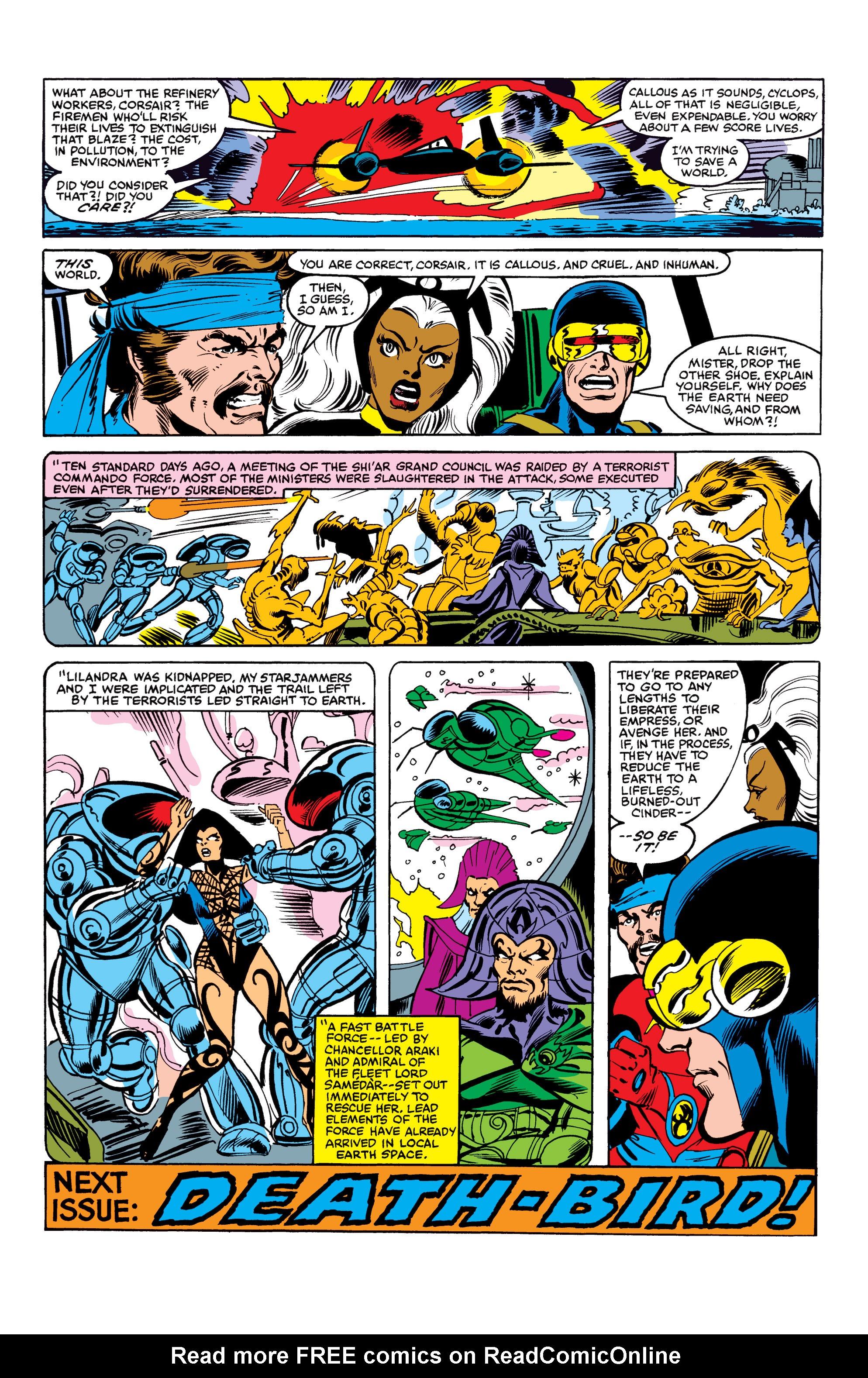 Read online Uncanny X-Men (1963) comic -  Issue #154 - 23