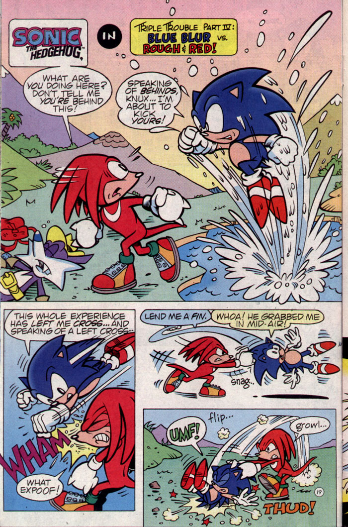 Read online Sonic The Hedgehog Triple Trouble Special comic -  Issue # Full - 21