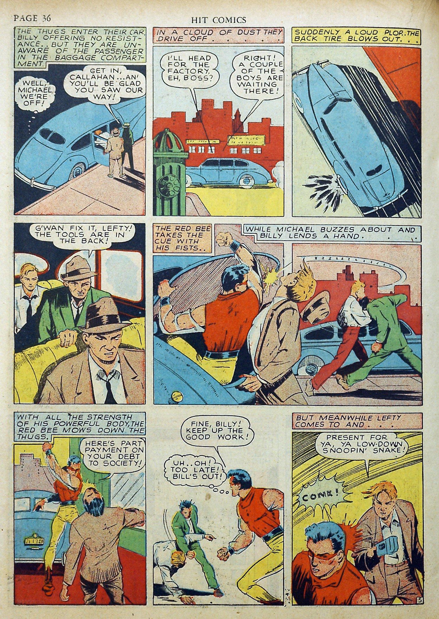 Read online Hit Comics comic -  Issue #17 - 38