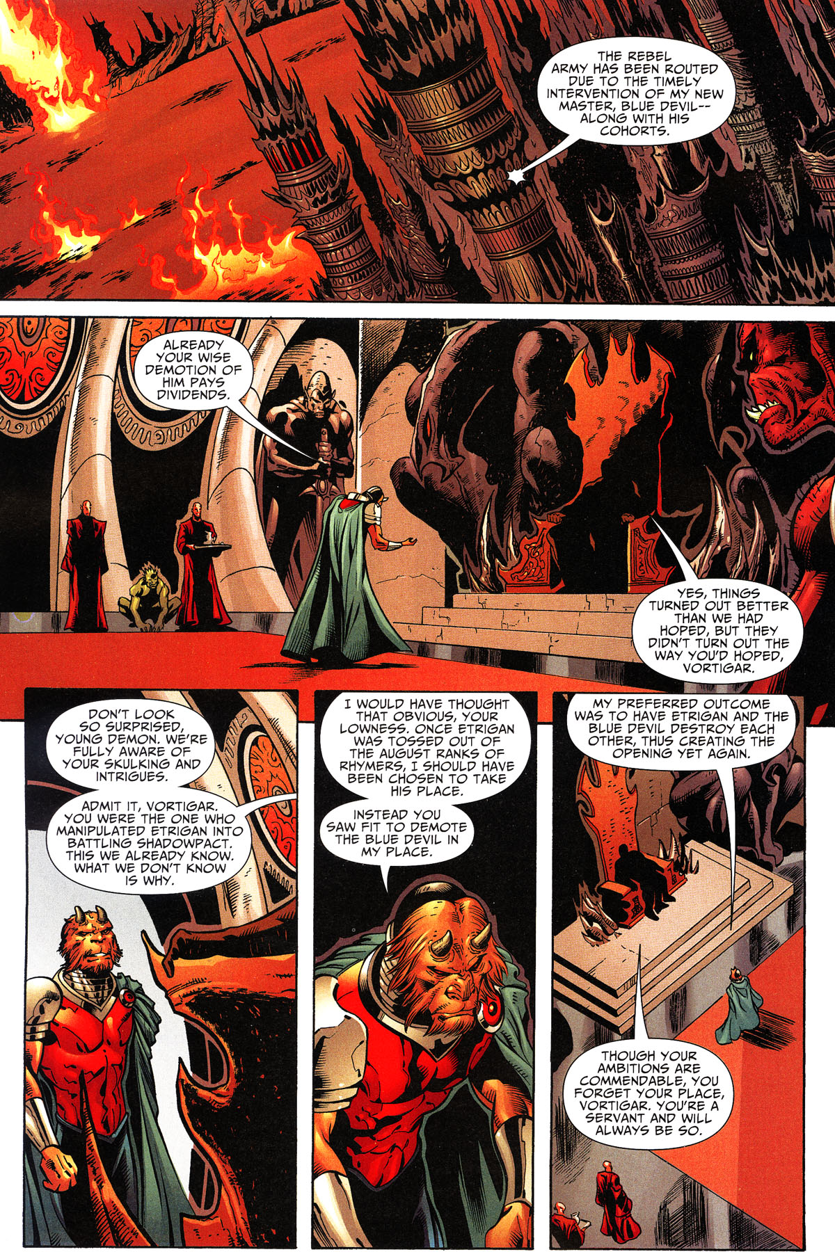 Read online Shadowpact comic -  Issue #11 - 13