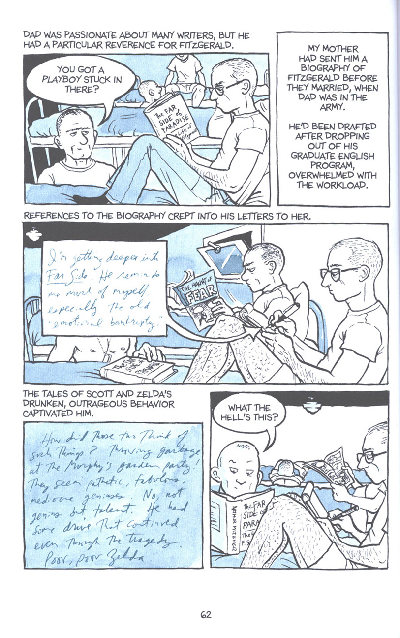 Read online Fun Home: A Family Tragicomic comic -  Issue # TPB - 69