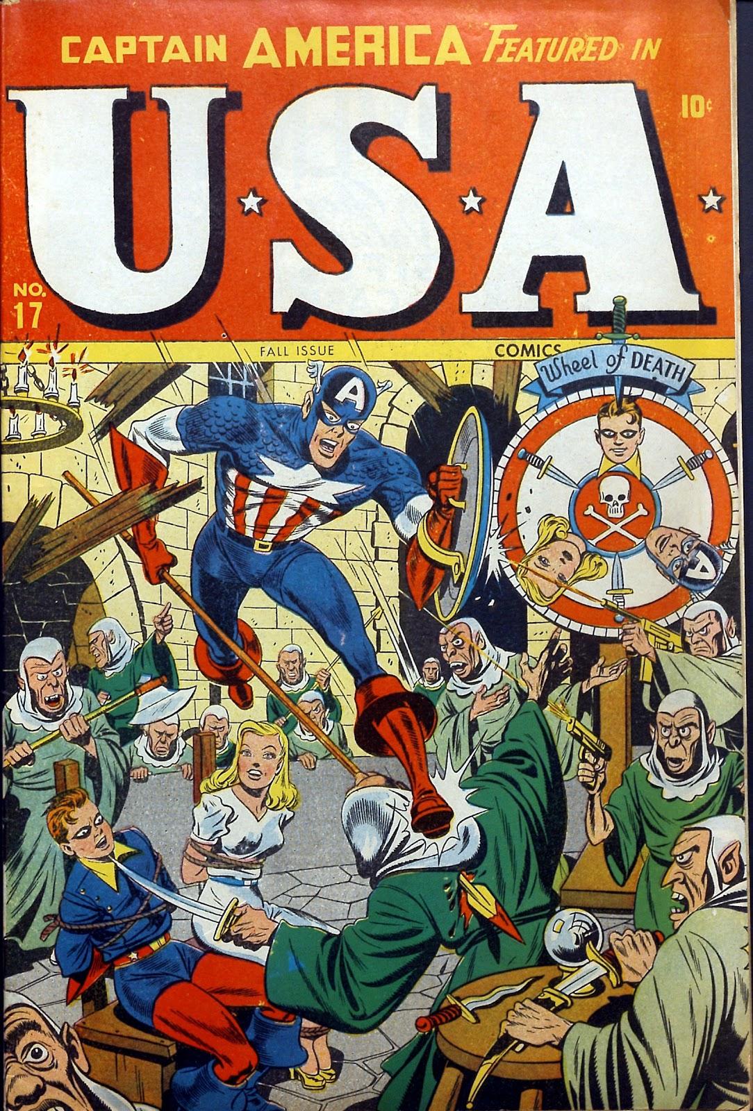 USA Comics 17 Page 1