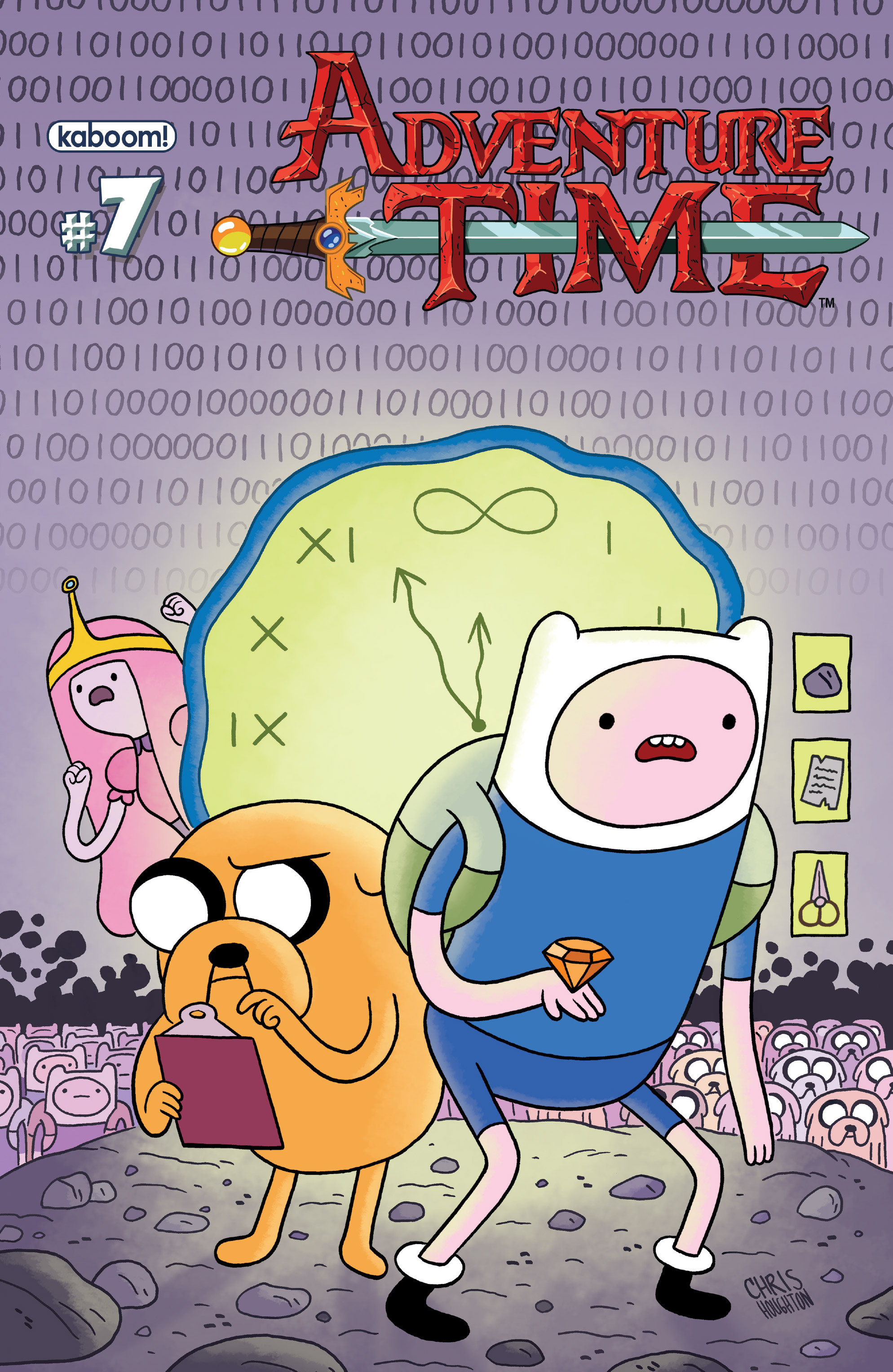 Read online Adventure Time comic -  Issue #7 - 1