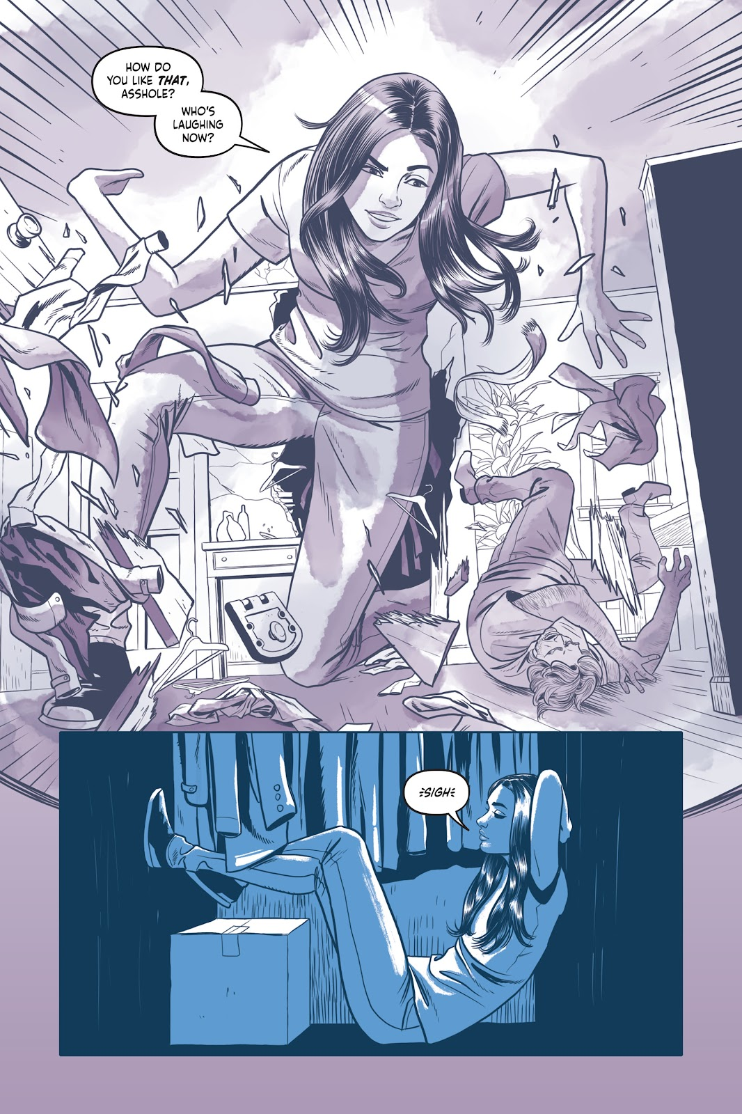 Read online Under the Moon: A Catwoman Tale comic -  Issue # TPB (Part 1) - 23