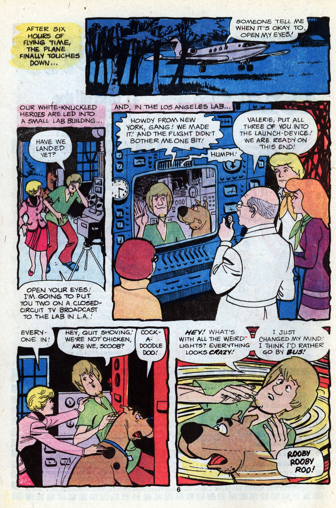 Read online Scooby-Doo (1977) comic -  Issue #7 - 8