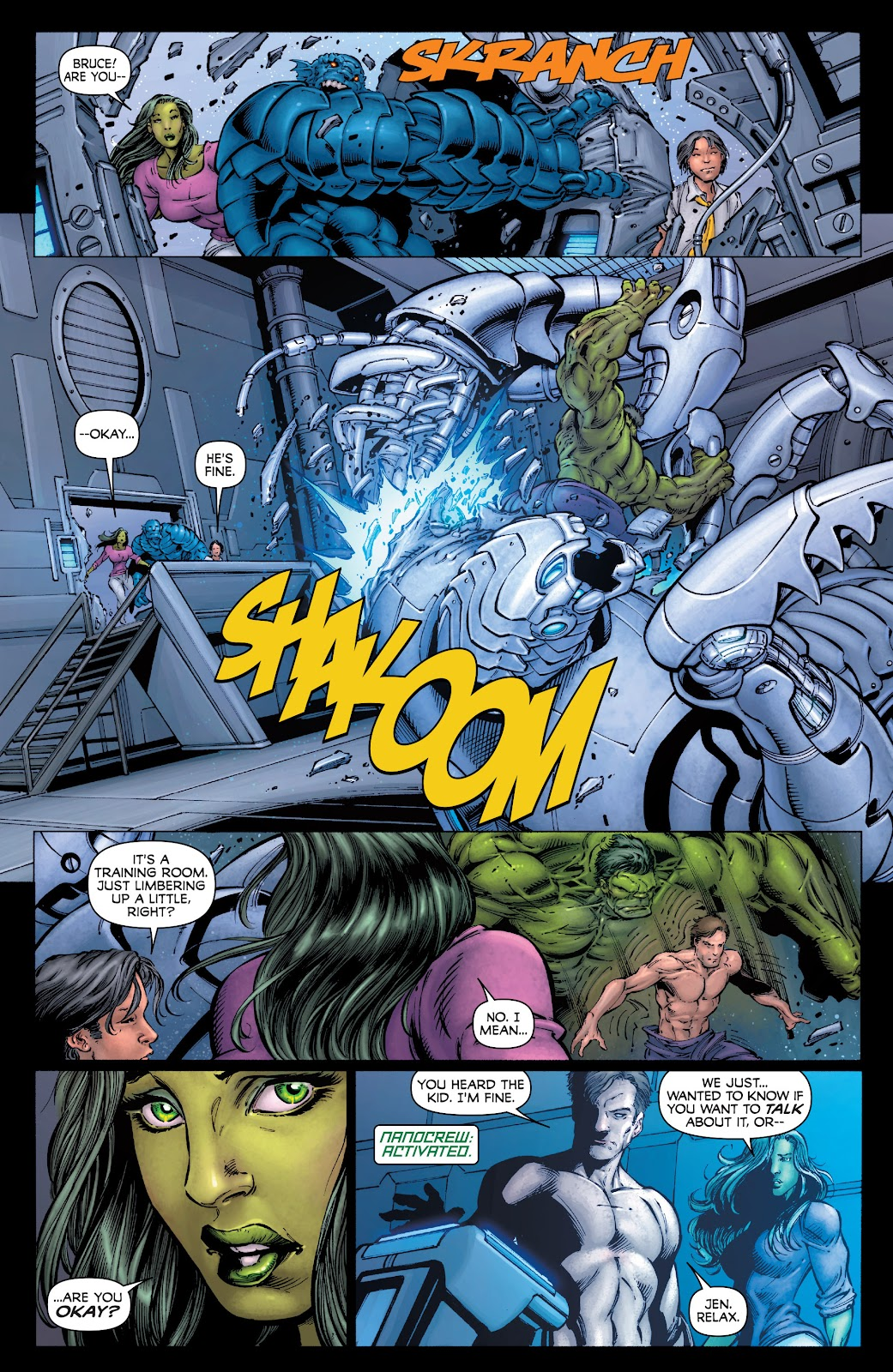 Read online Incredible Hulks (2010) comic -  Issue # _TPB Heart of the Monster - 8