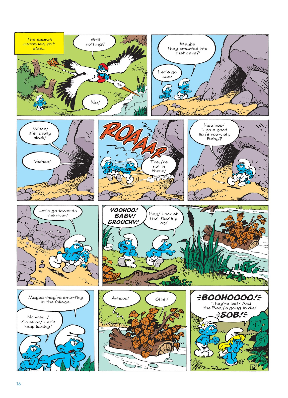 Read online The Smurfs comic -  Issue #14 - 17