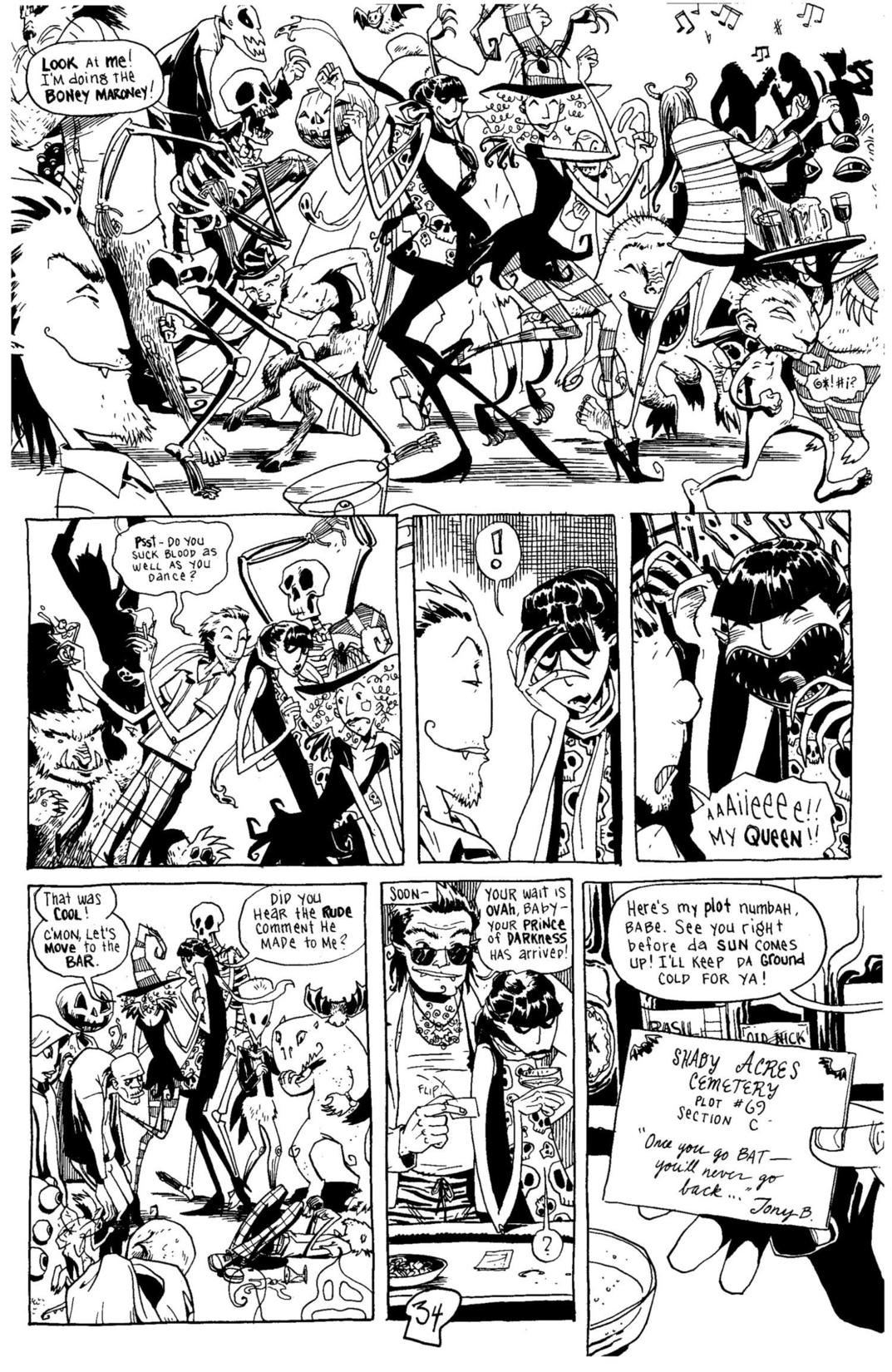 Read online Scary Godmother Comic Book Stories comic -  Issue # TPB - 35