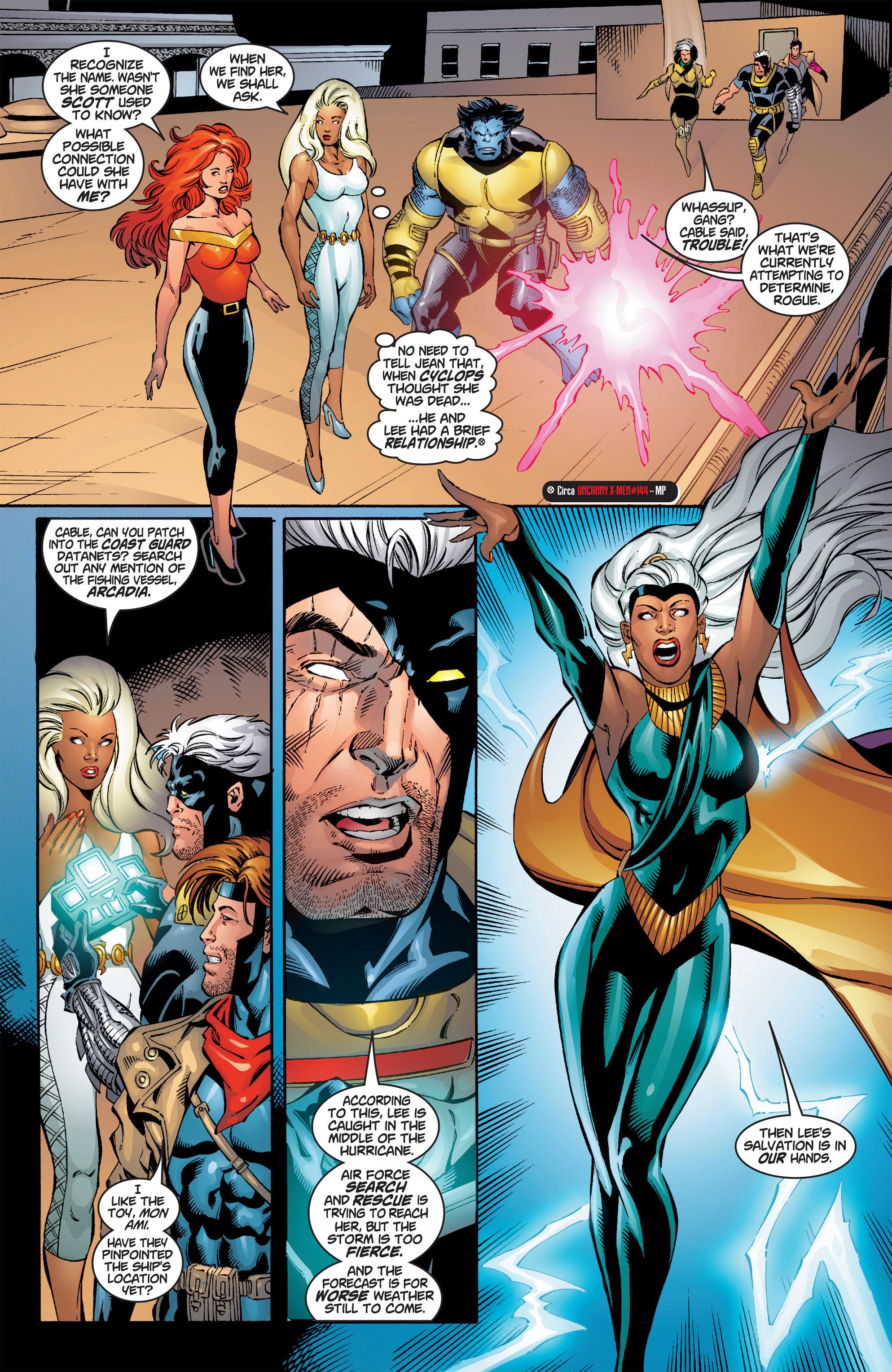 Read online Uncanny X-Men (1963) comic -  Issue #386 - 7